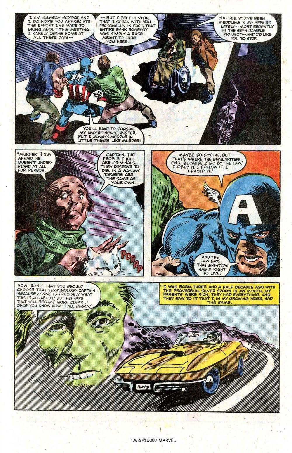 Read online Captain America (1968) comic -  Issue # _Annual 5 - 33