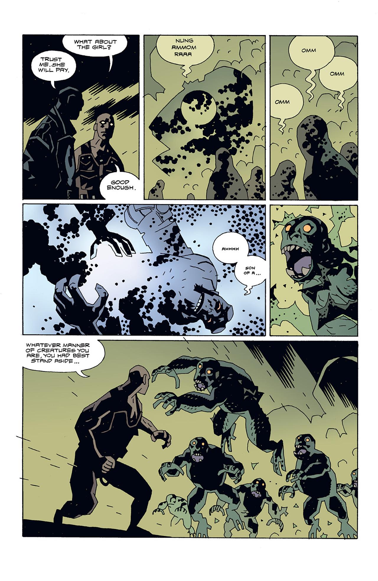 Read online Hellboy: Conqueror Worm comic -  Issue #3 - 9