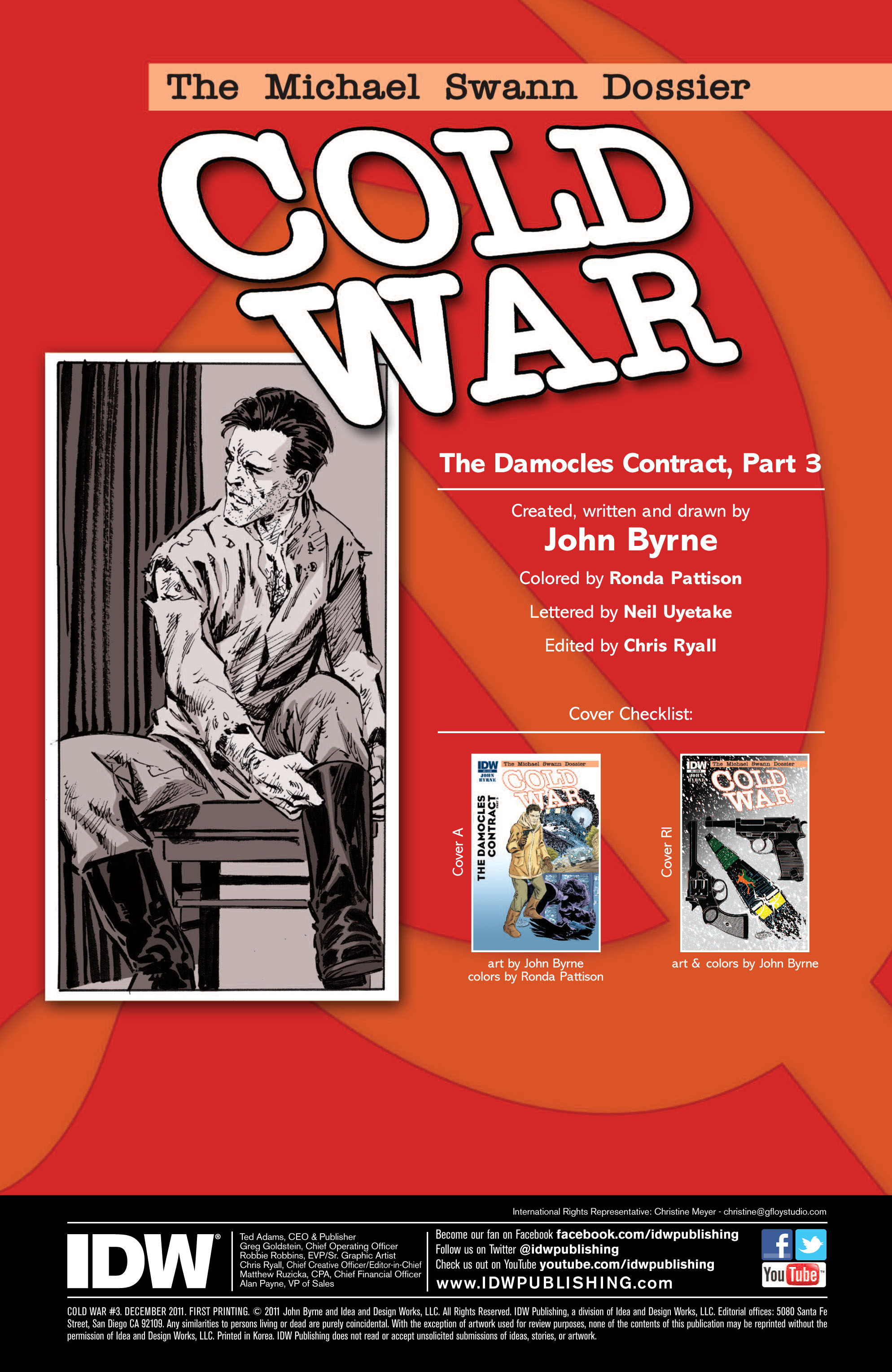Read online Cold War comic -  Issue # TPB - 58