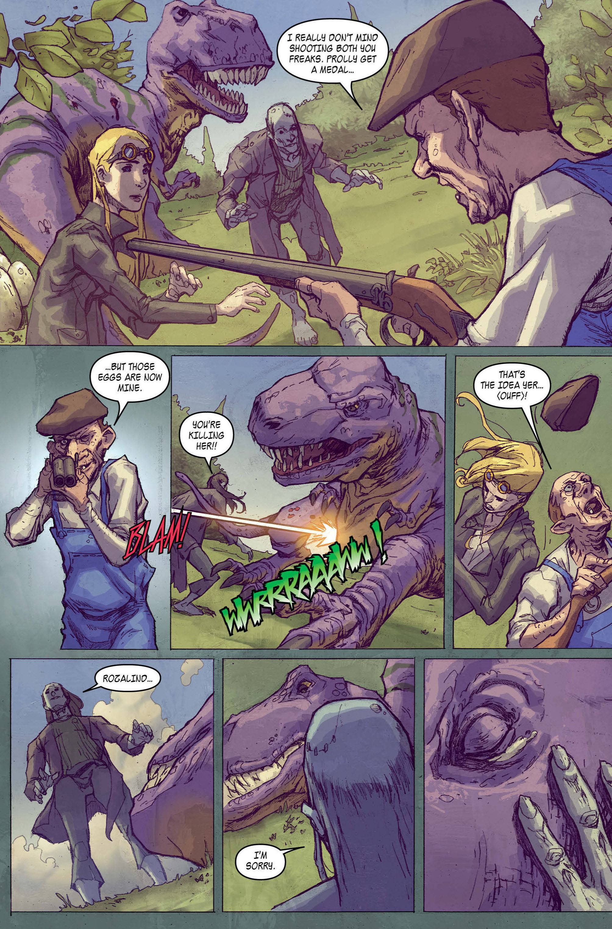 Read online A1 comic -  Issue #5 - 5