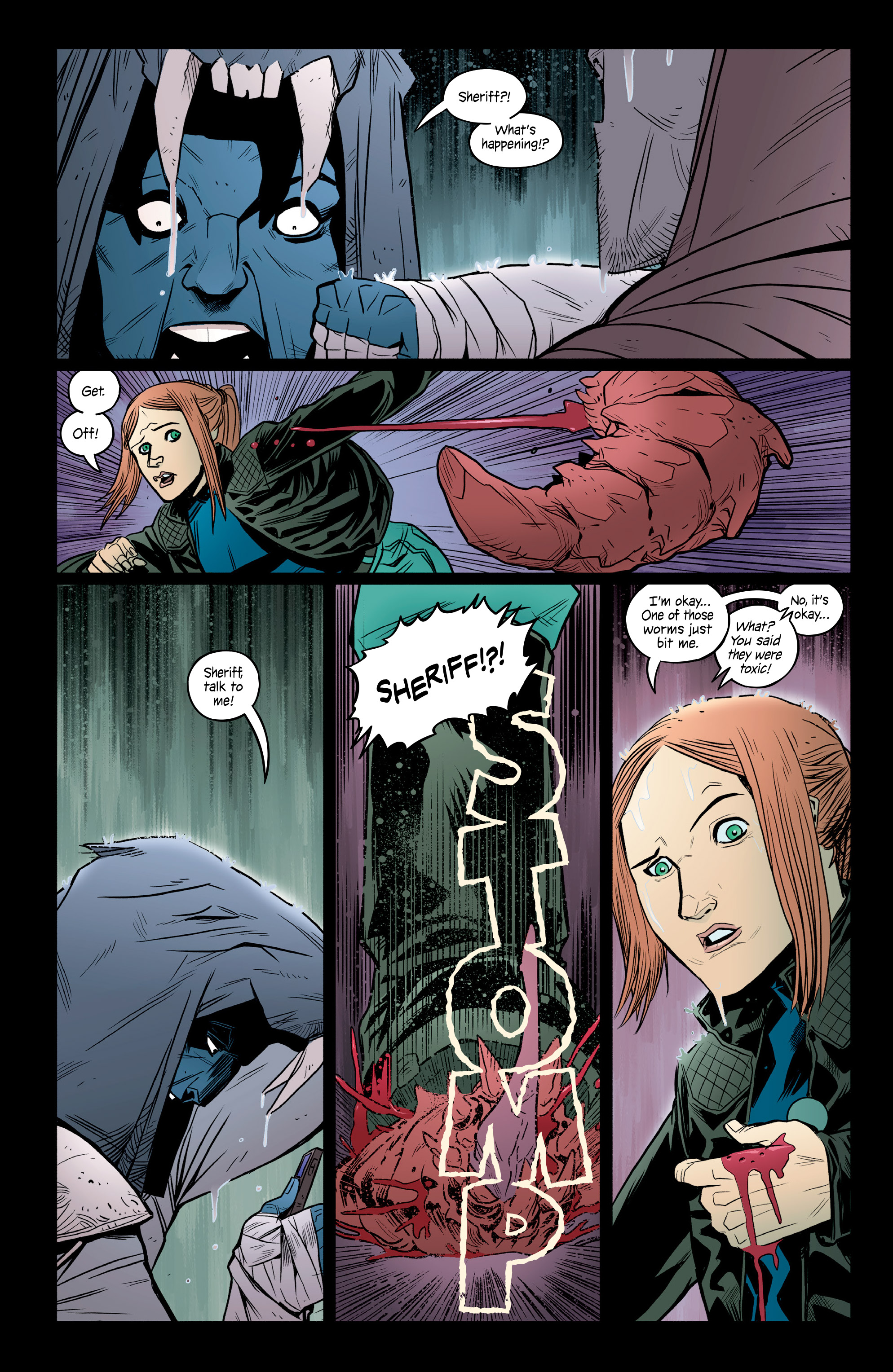 Read online Copperhead comic -  Issue #14 - 13