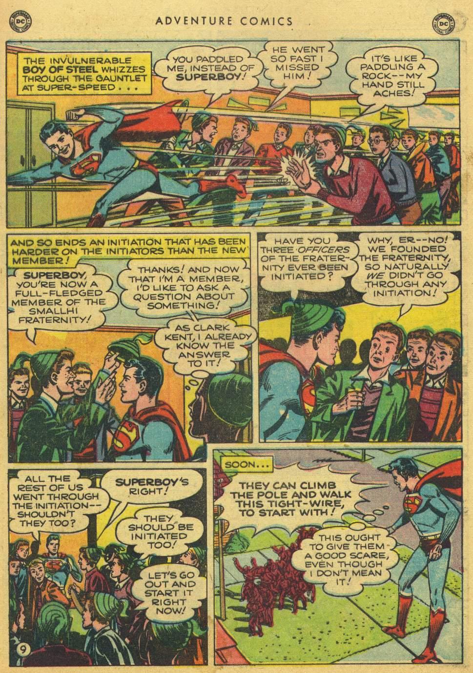 Read online Adventure Comics (1938) comic -  Issue #150 - 11