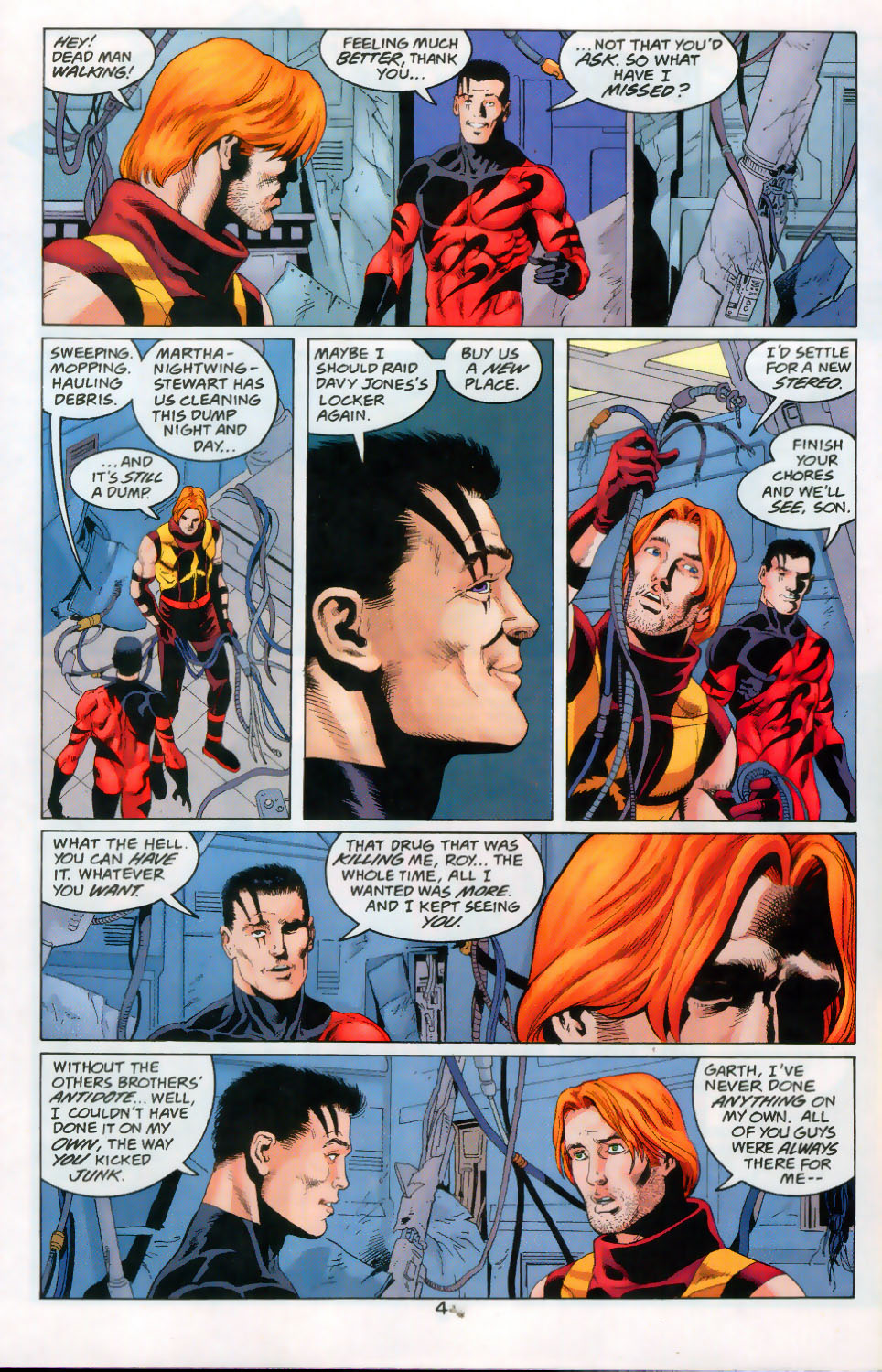 Read online The Titans (1999) comic -  Issue #45 - 5