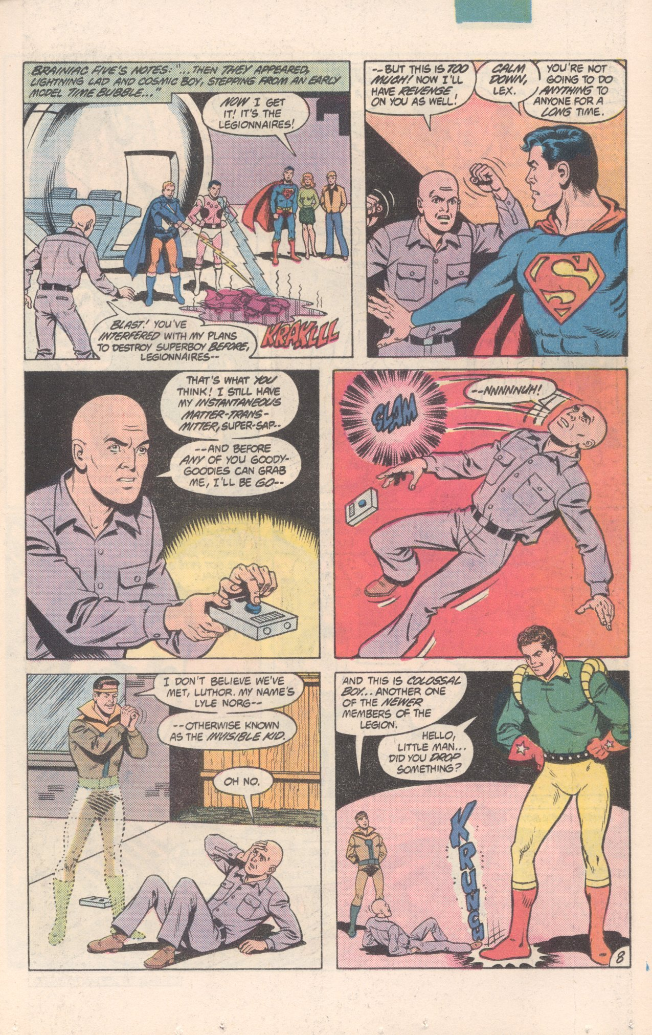 Legion of Super-Heroes (1980) 300 Page 8