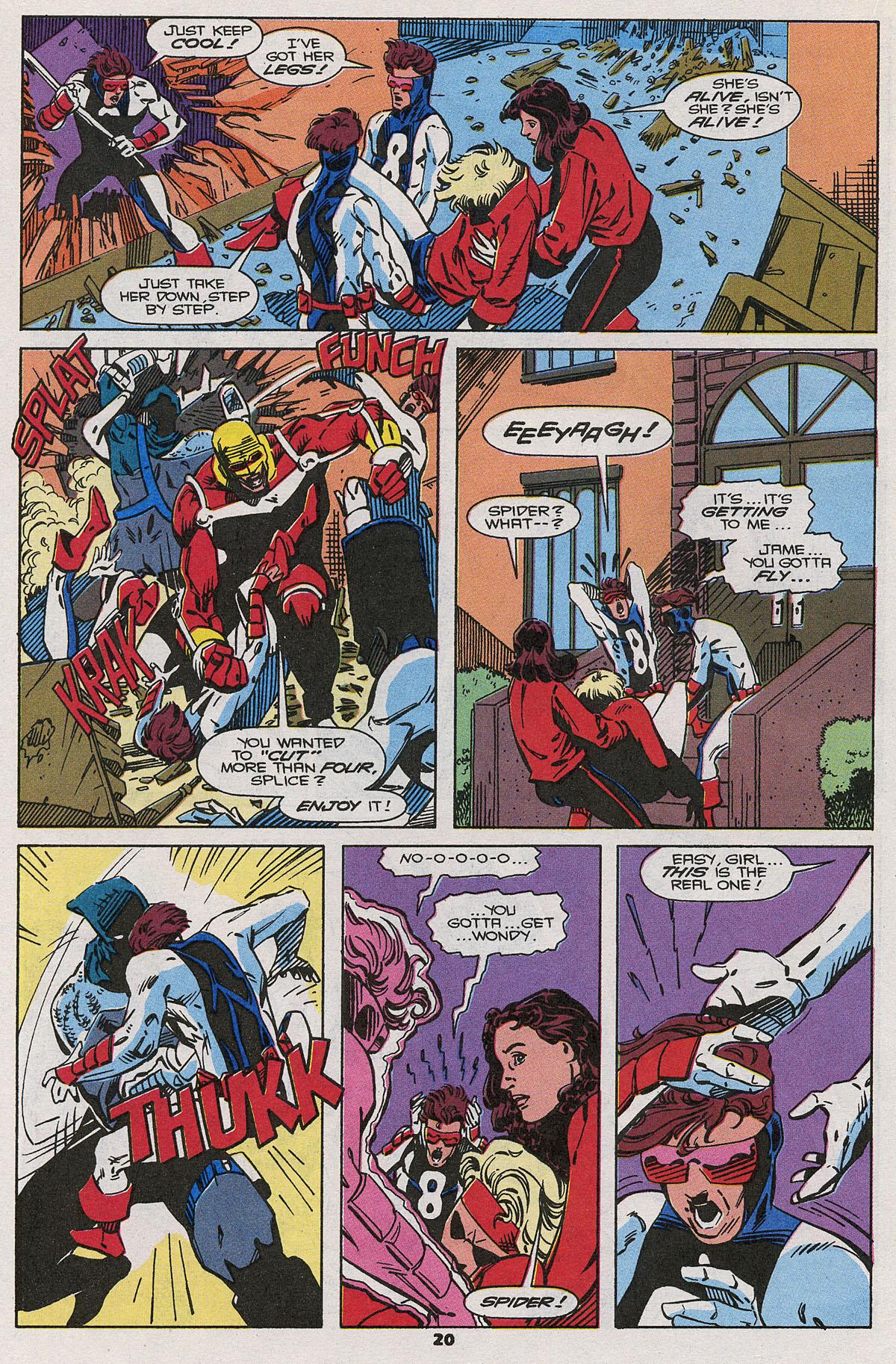 Read online Wonder Man (1991) comic -  Issue #20 - 17