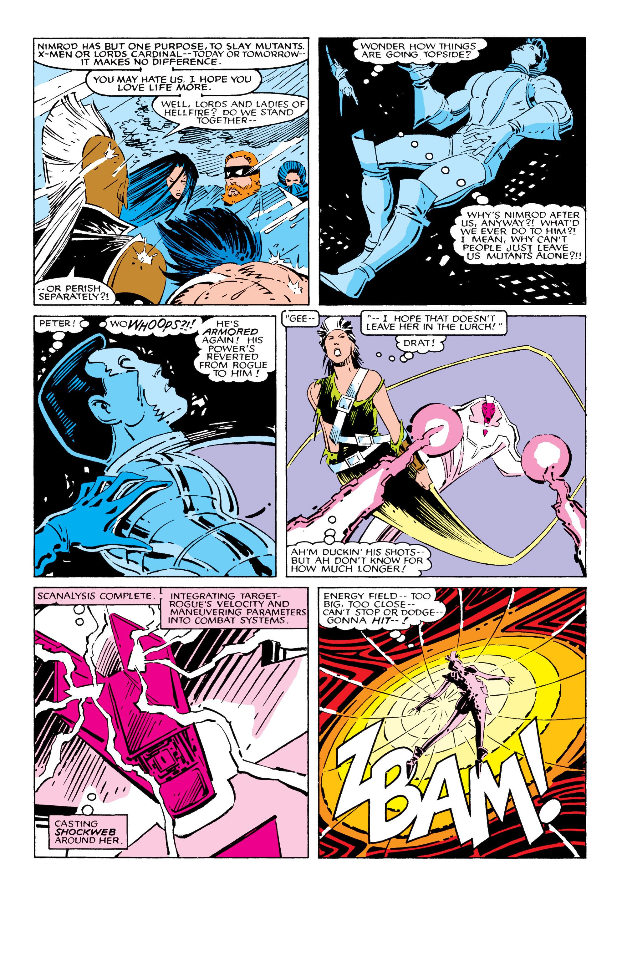 Read online Uncanny X-Men (1963) comic -  Issue #209 - 11