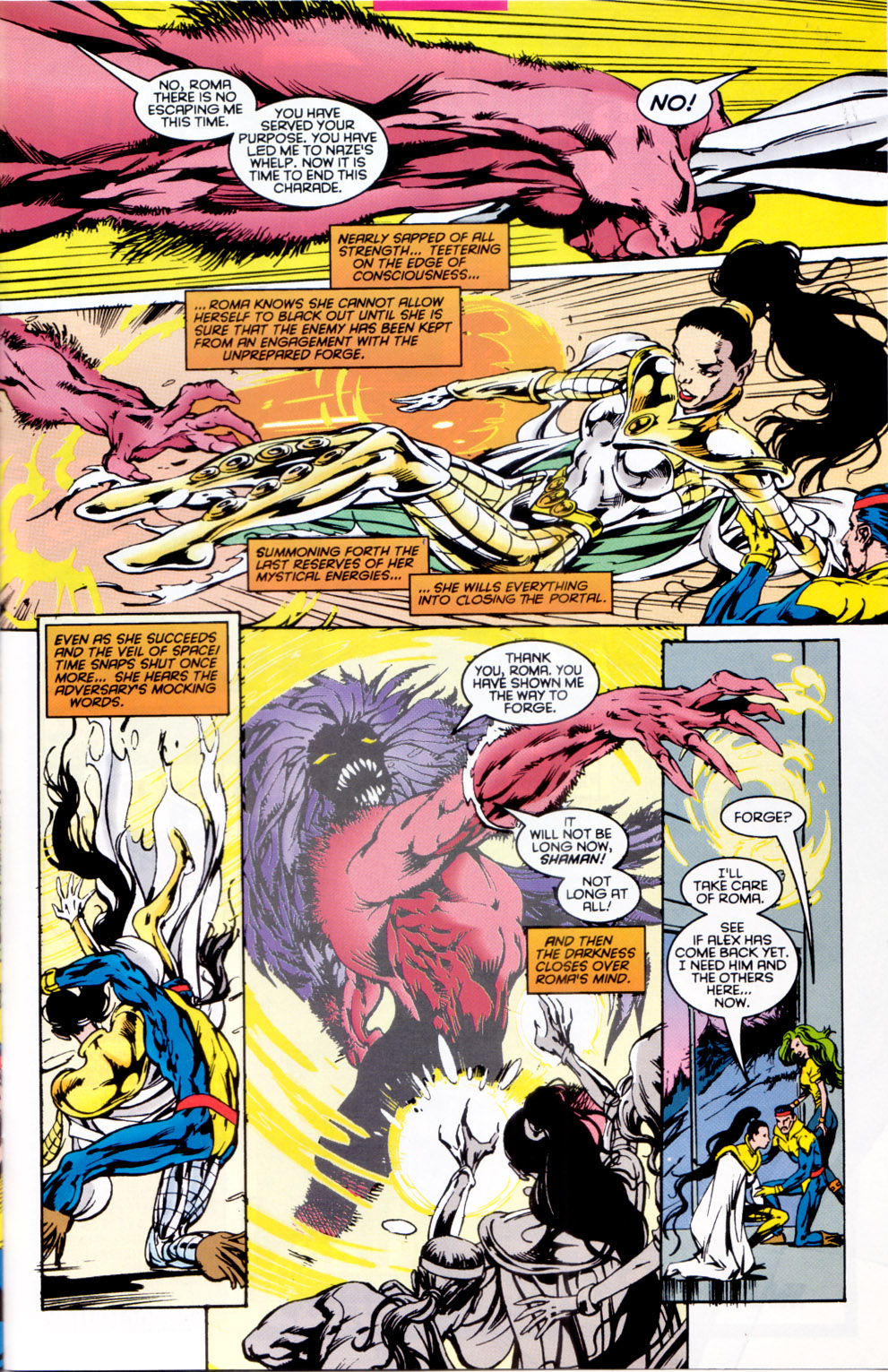 Read online X-Factor (1986) comic -  Issue #118 - 23