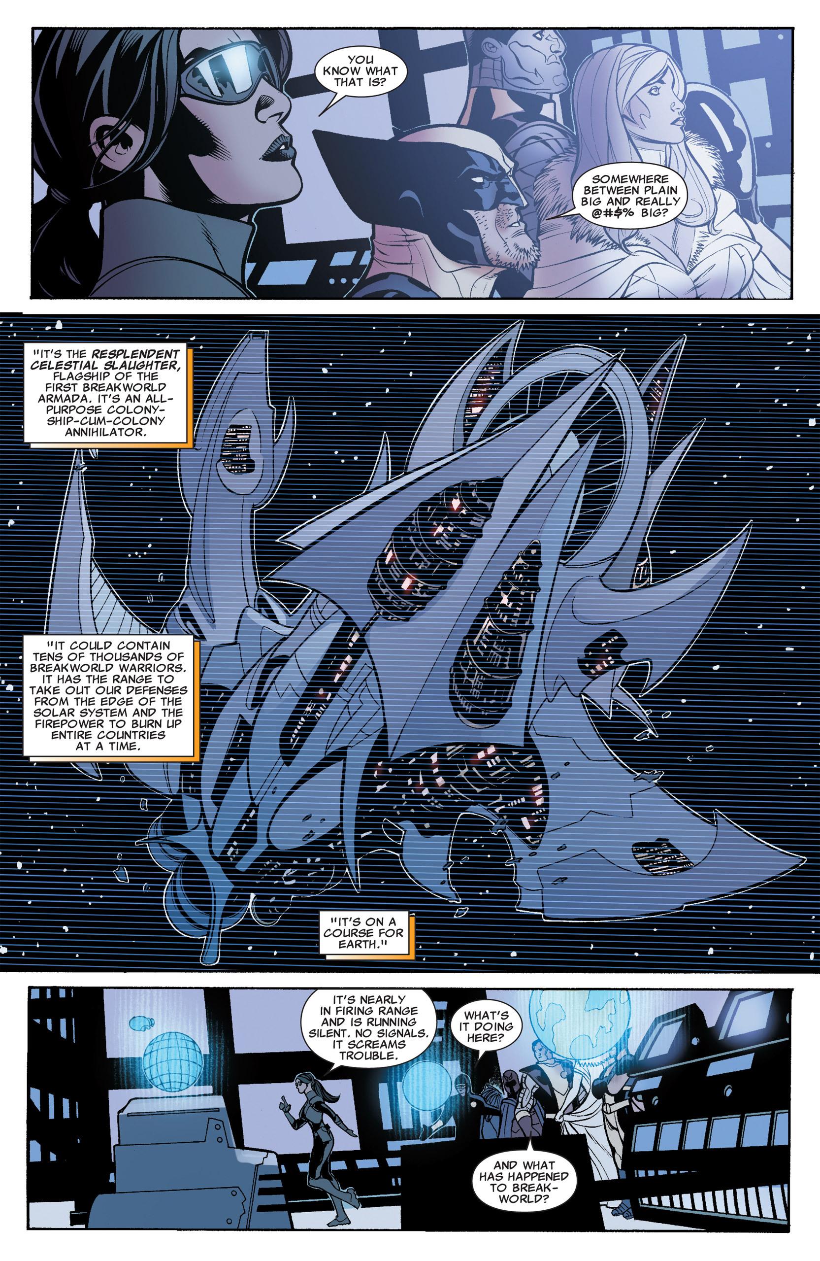 Read online Uncanny X-Men (1963) comic -  Issue #535 - 19
