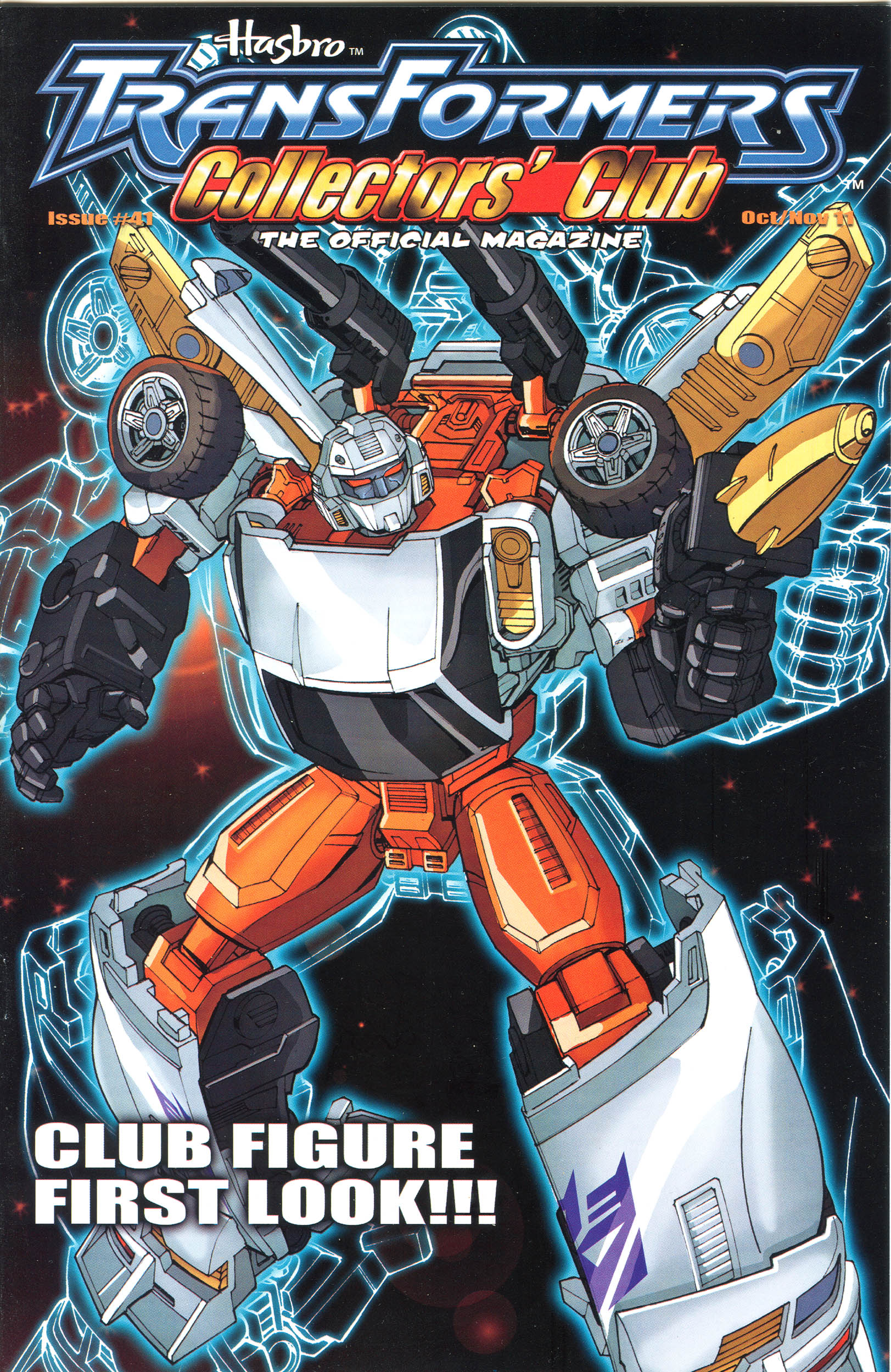 Read online Transformers: Collectors' Club comic -  Issue #41 - 1