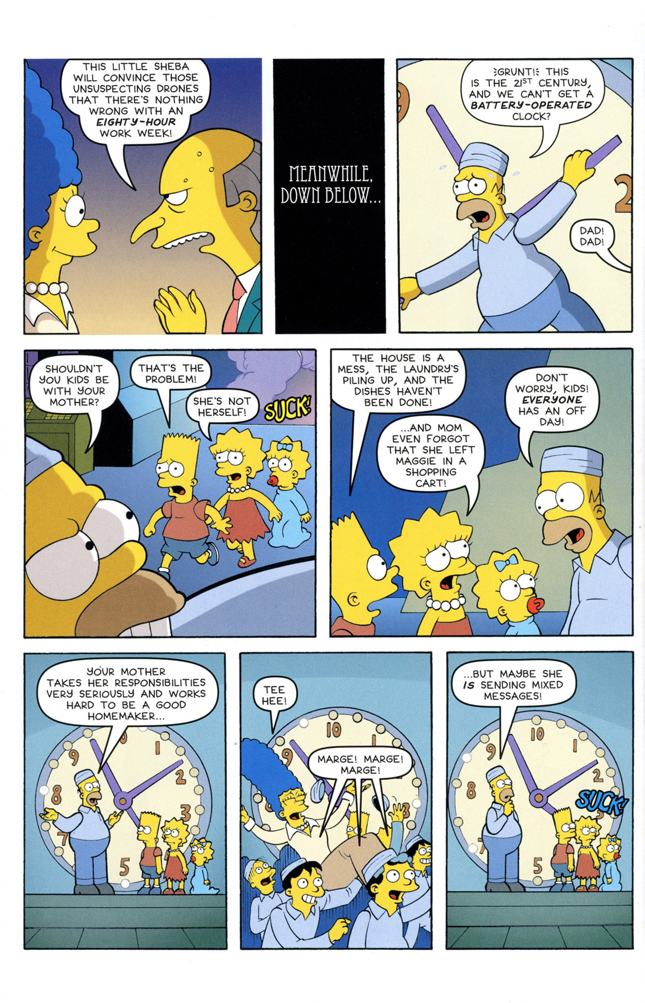 Read online Treehouse of Horror comic -  Issue #21 - 40