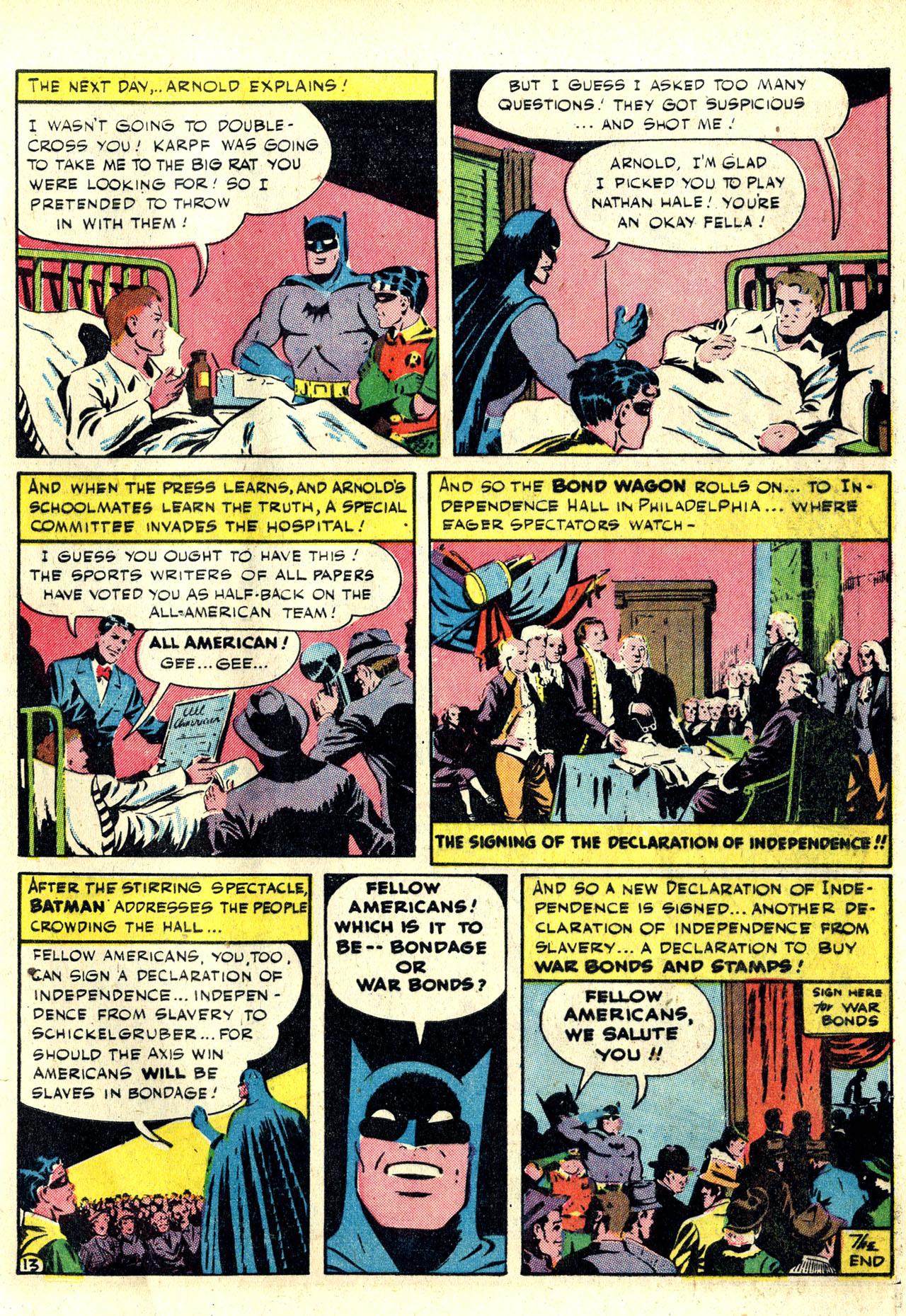 Read online Detective Comics (1937) comic -  Issue #78 - 15