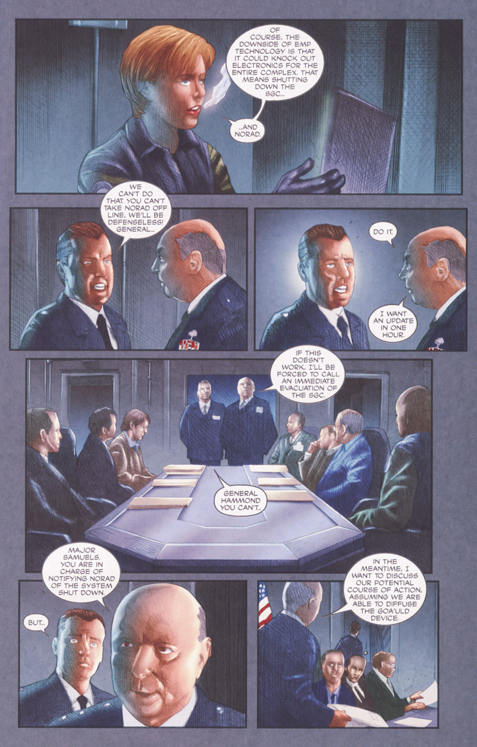 Read online Stargate SG-1: POW comic -  Issue #2 - 11