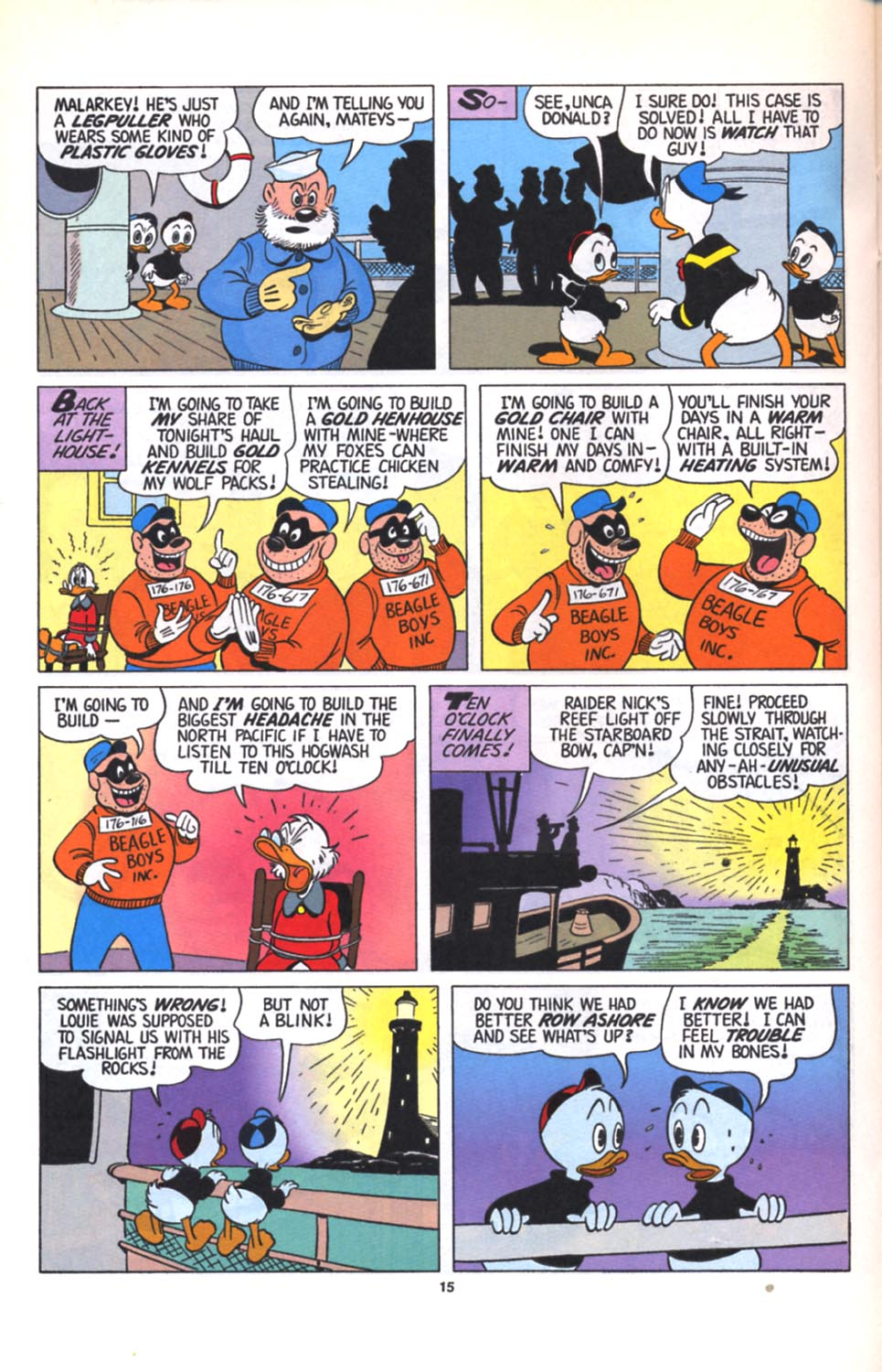 Read online Uncle Scrooge (1953) comic -  Issue #280 - 16