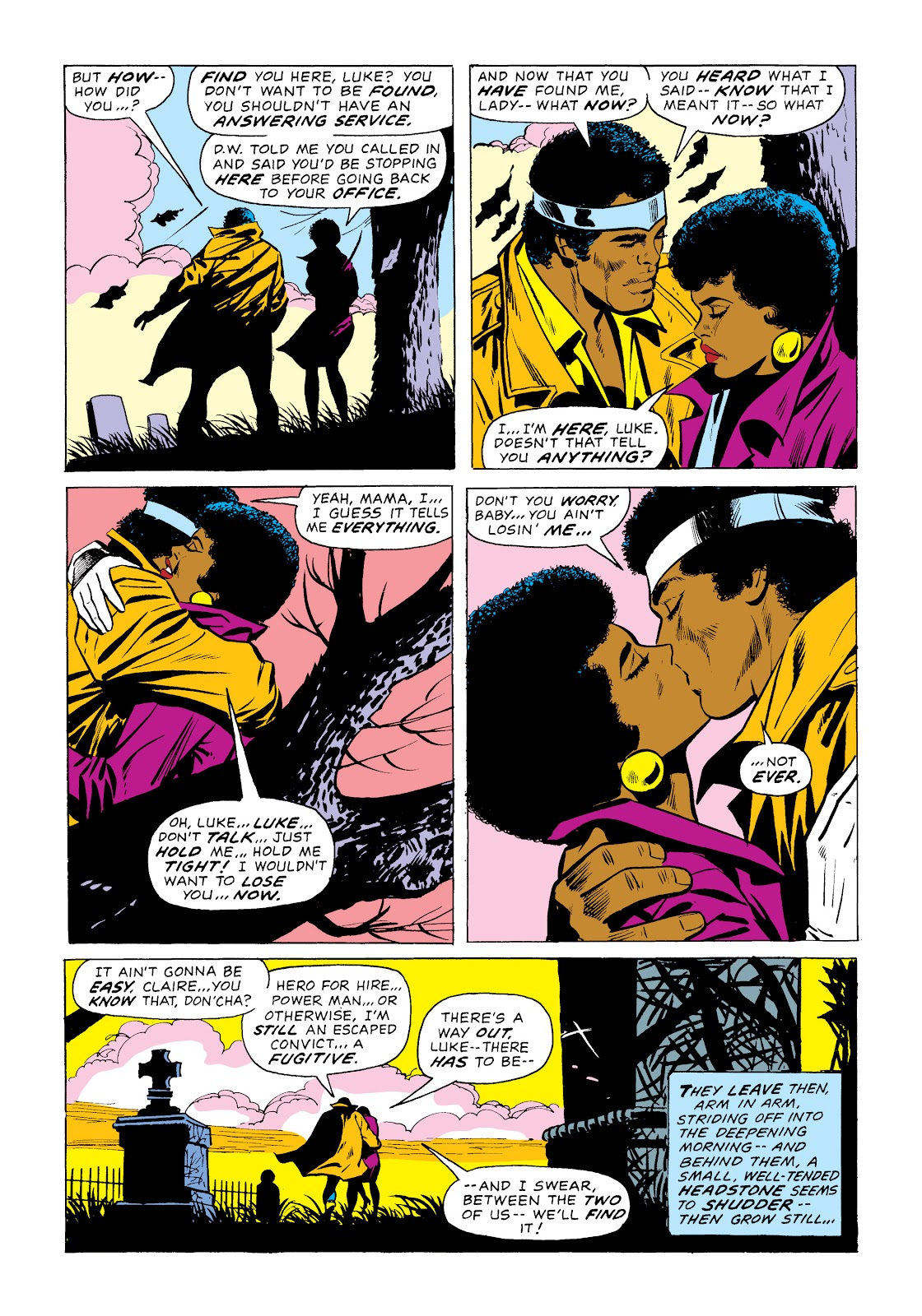 Read online Marvel Masterworks: Luke Cage, Power Man comic -  Issue # TPB 2 (Part 1) - 32