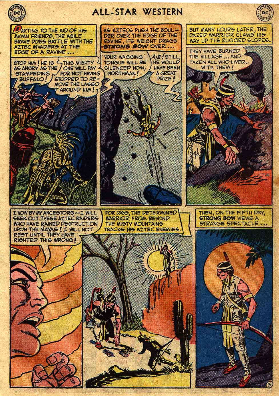 Read online All-Star Western (1951) comic -  Issue #62 - 5
