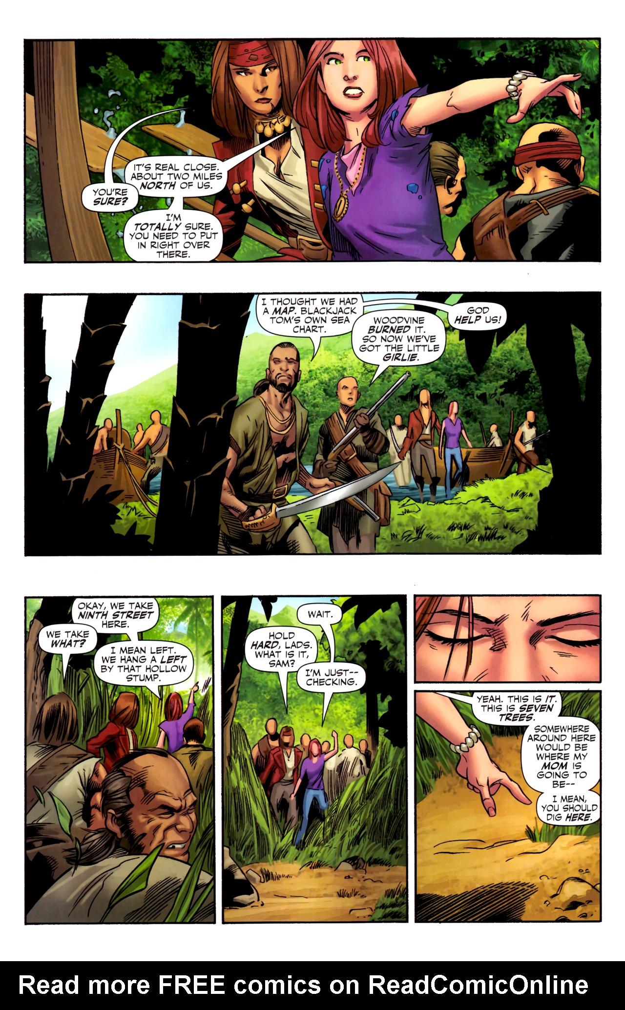 Read online Sigil (2011) comic -  Issue #3 - 18