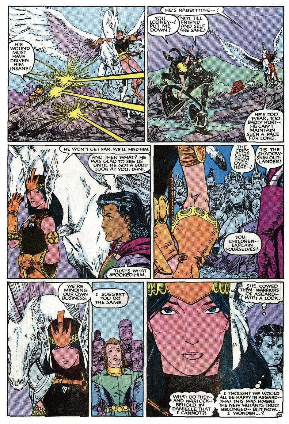 Read online Uncanny X-Men (1963) comic -  Issue # _Annual 9 - 23