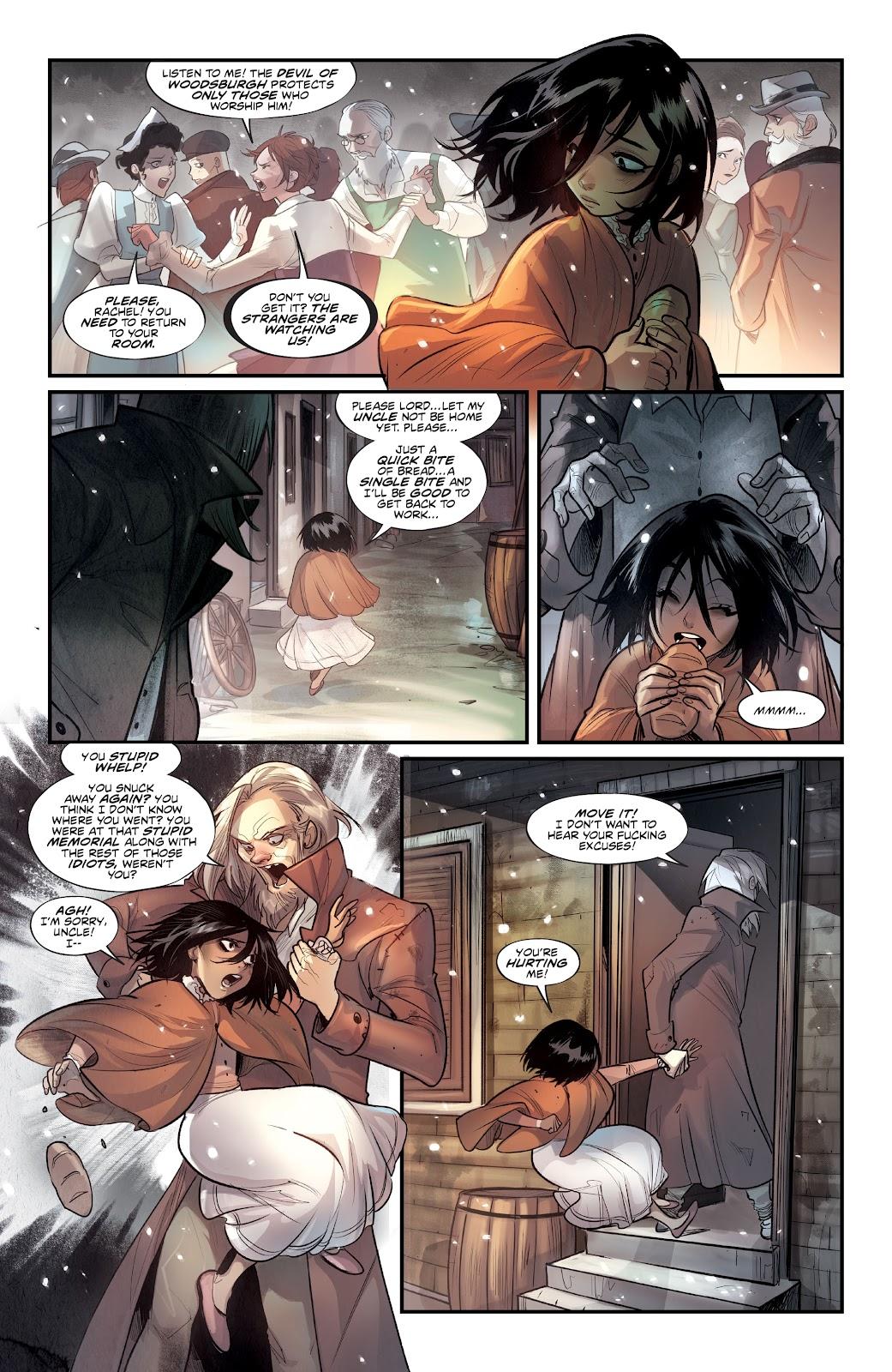 Read online Mirka Andolfo's Mercy comic -  Issue #1 - 15