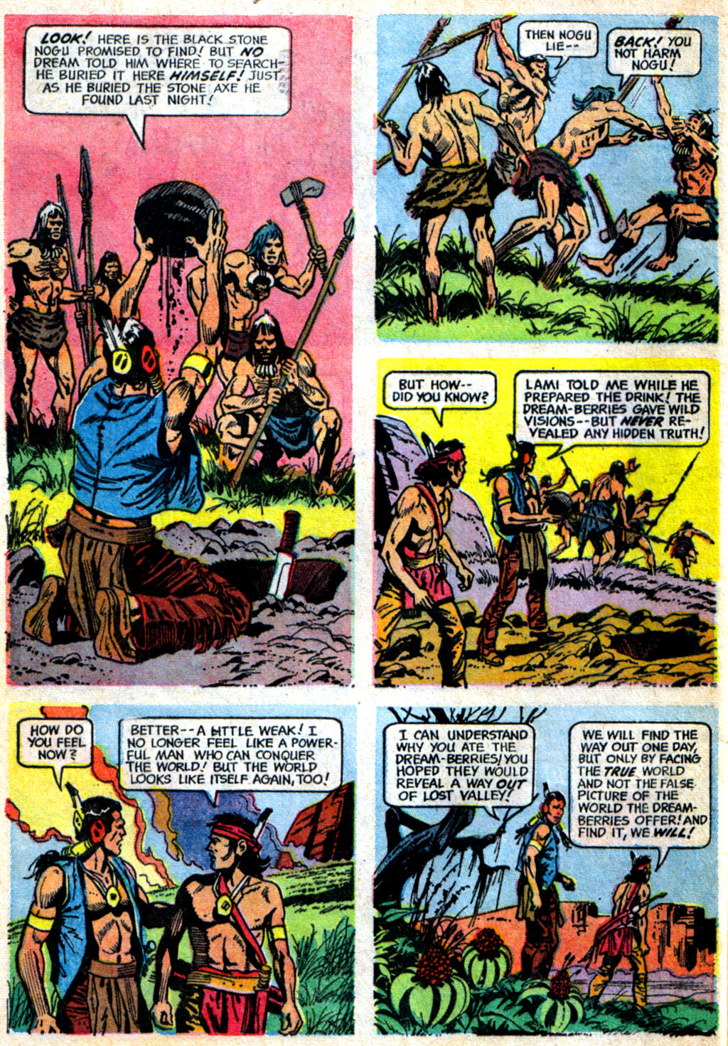 Read online Turok, Son of Stone comic -  Issue #62 - 32