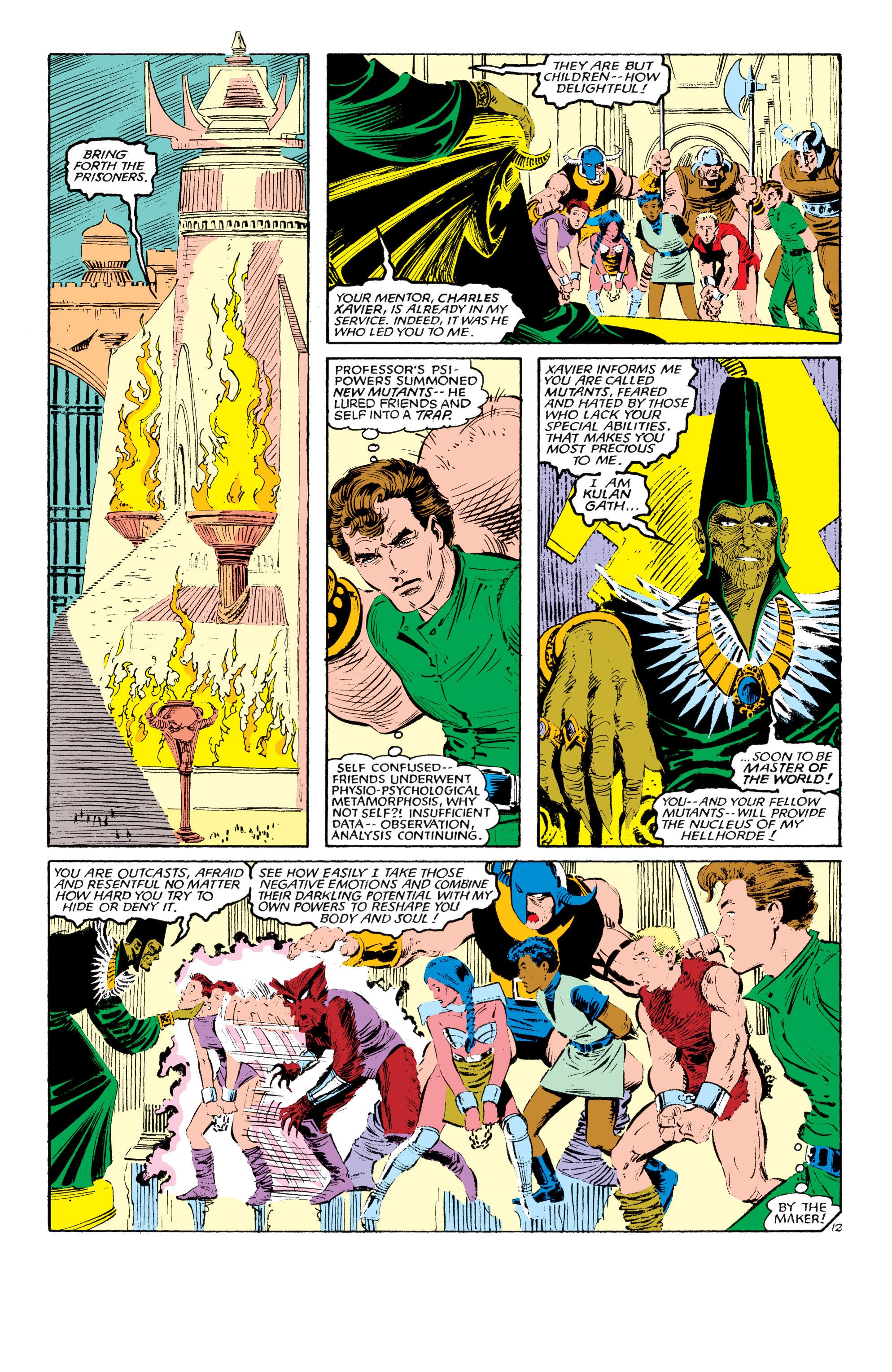 Read online Uncanny X-Men (1963) comic -  Issue #190 - 12