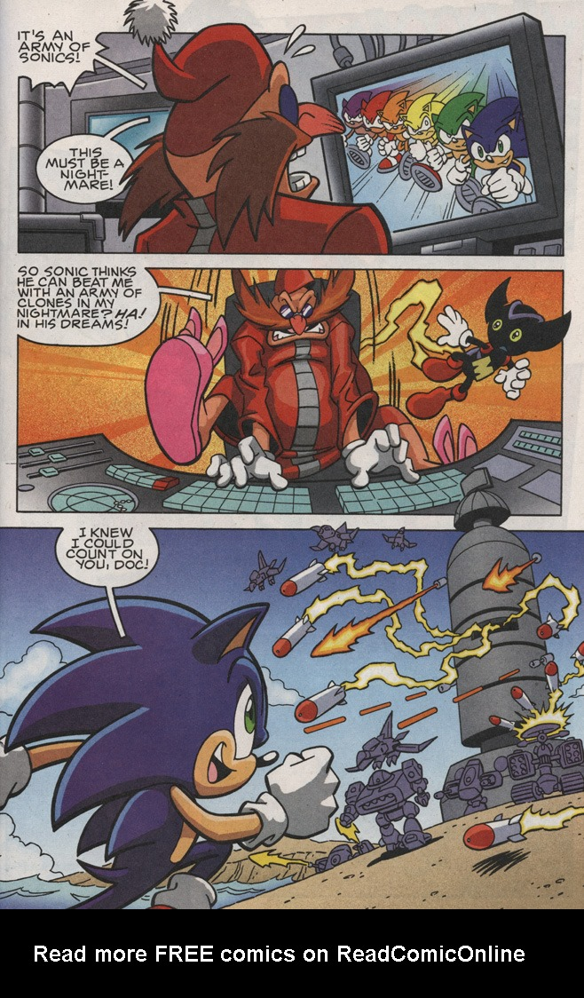 Read online Sonic X comic -  Issue #25 - 23