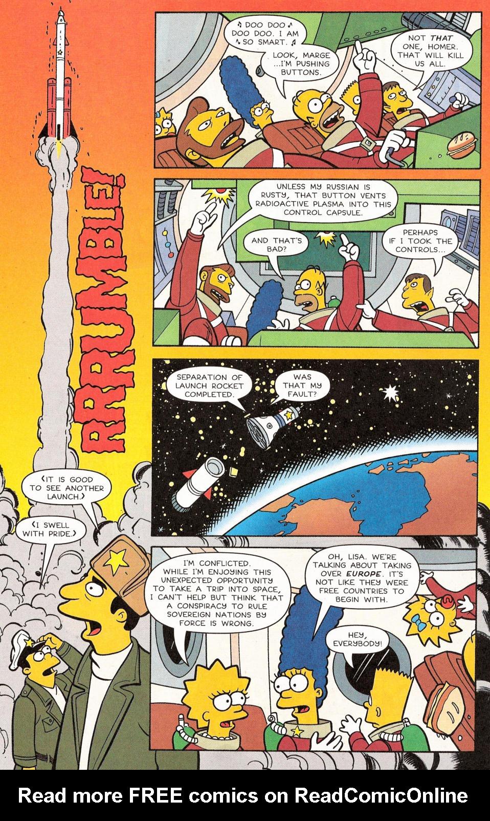Read online Simpsons Comics comic -  Issue #117 - 17