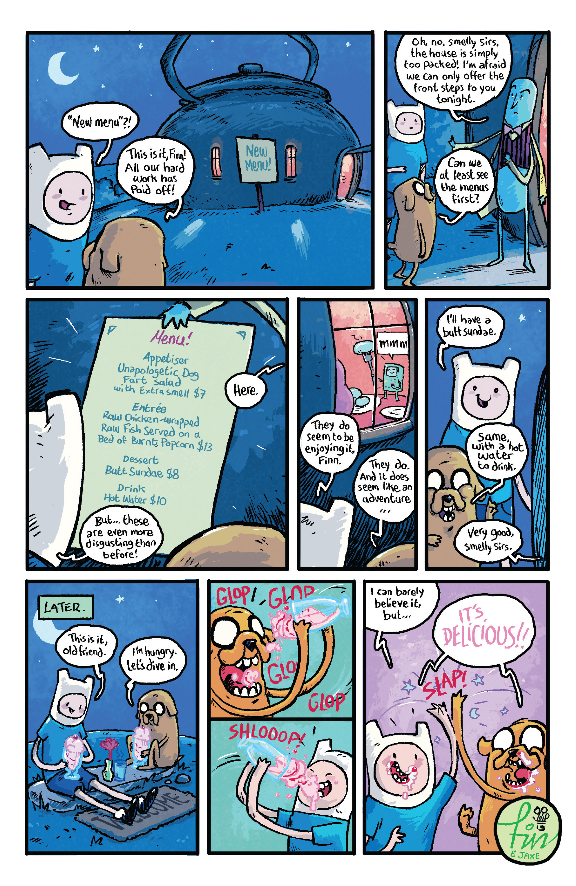 Read online Adventure Time comic -  Issue #29 - 24