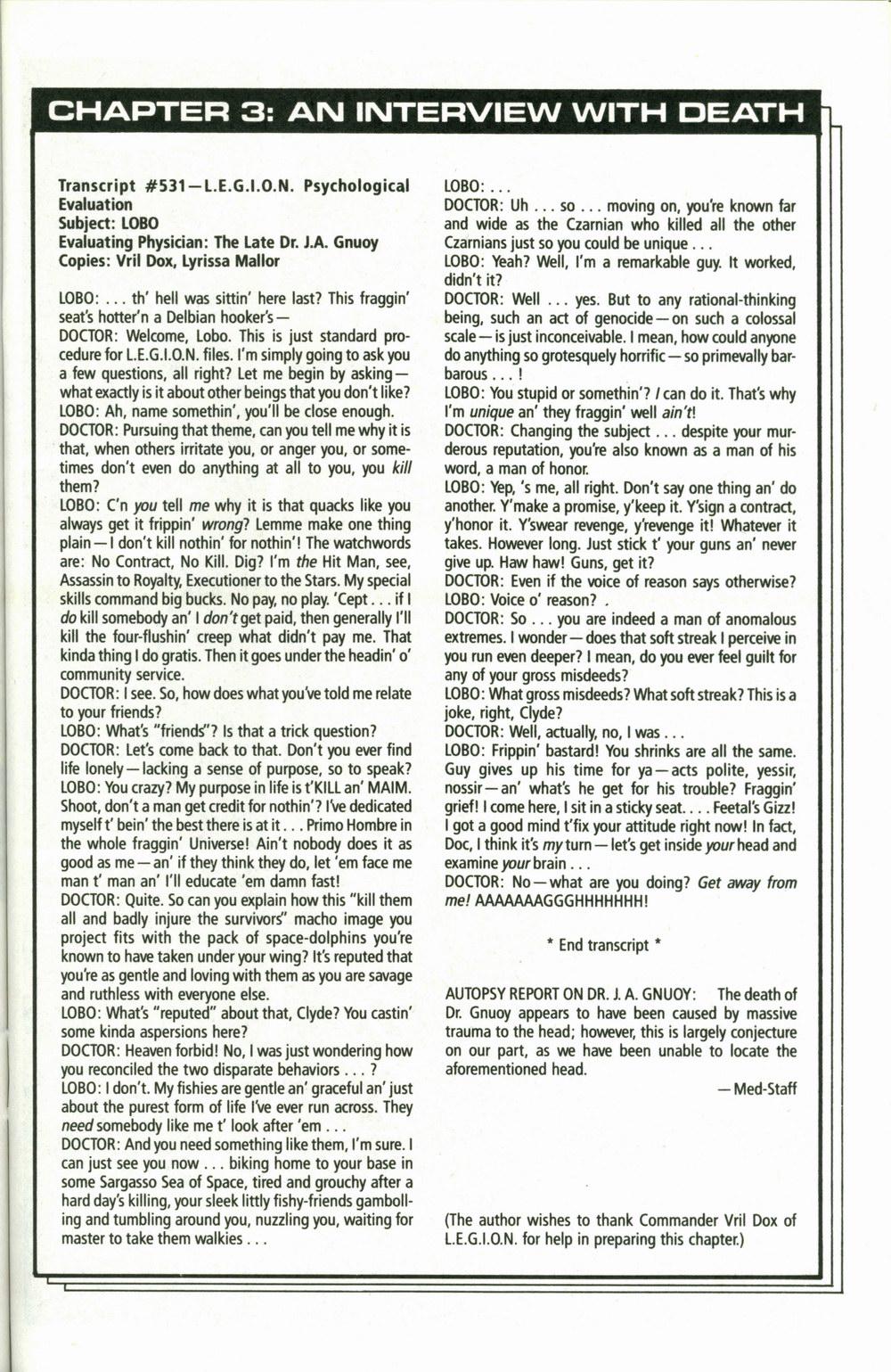 Read online Lobo (1990) comic -  Issue #1 - 24