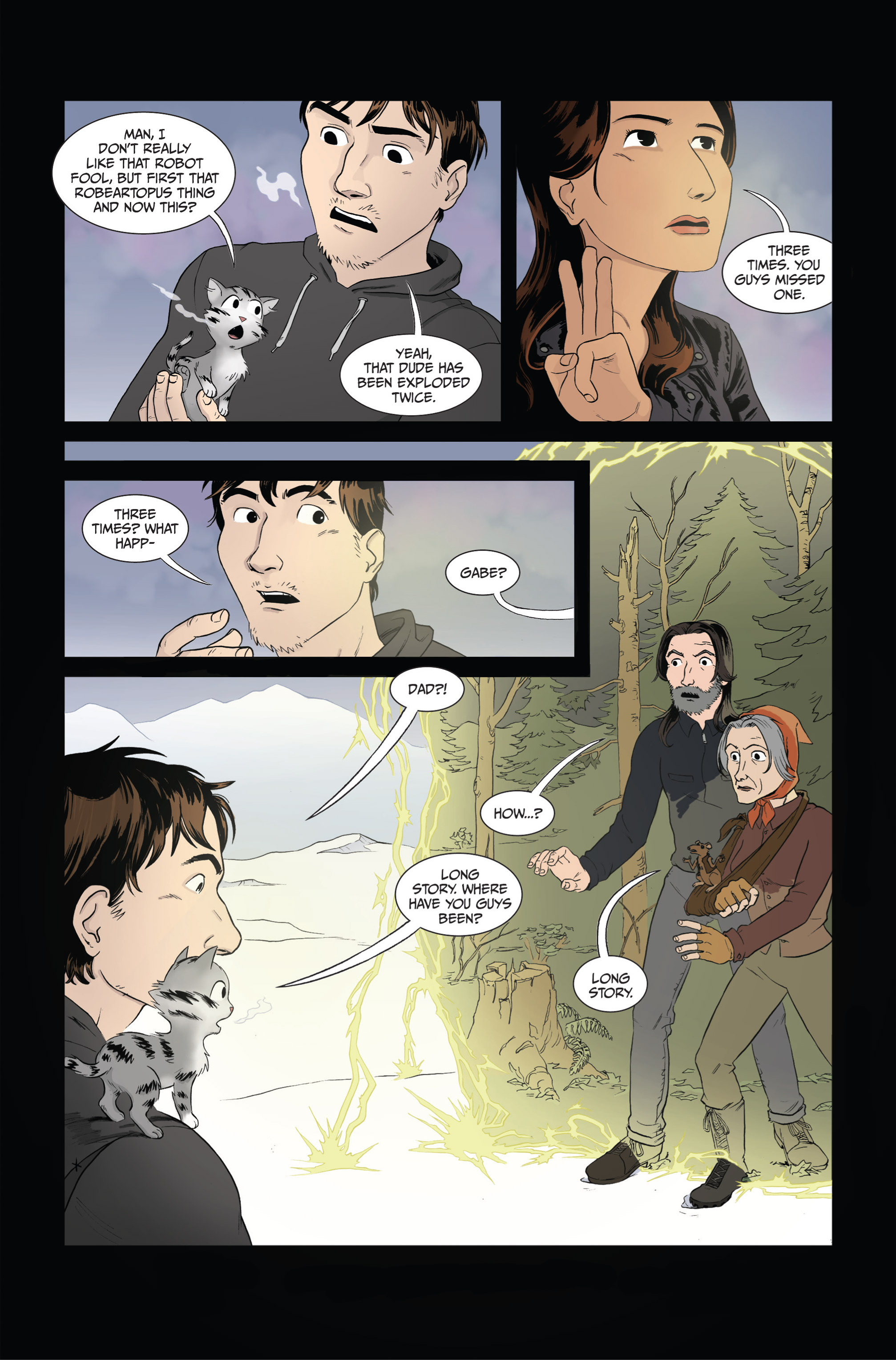 Read online Ehmm Theory: Everything & Small Doses comic -  Issue #4 - 21