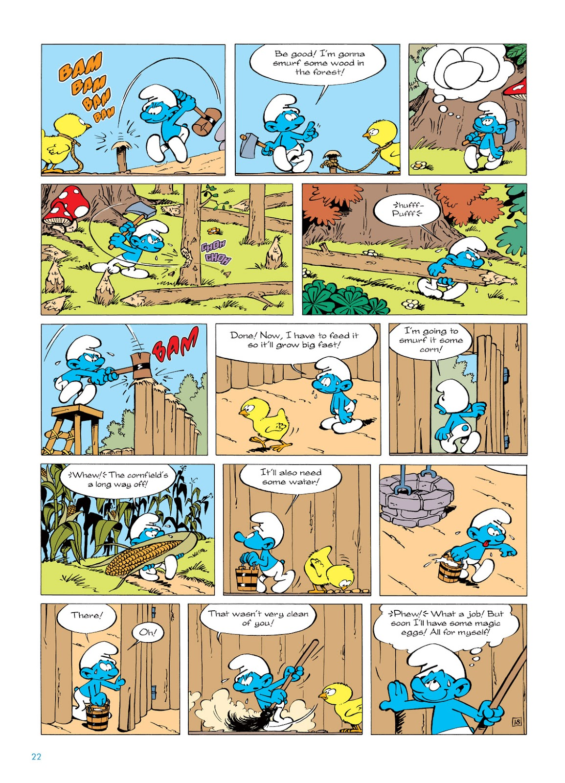 Read online The Smurfs comic -  Issue #5 - 22