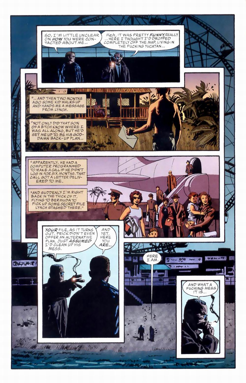 Read online Sleeper comic -  Issue #8 - 8