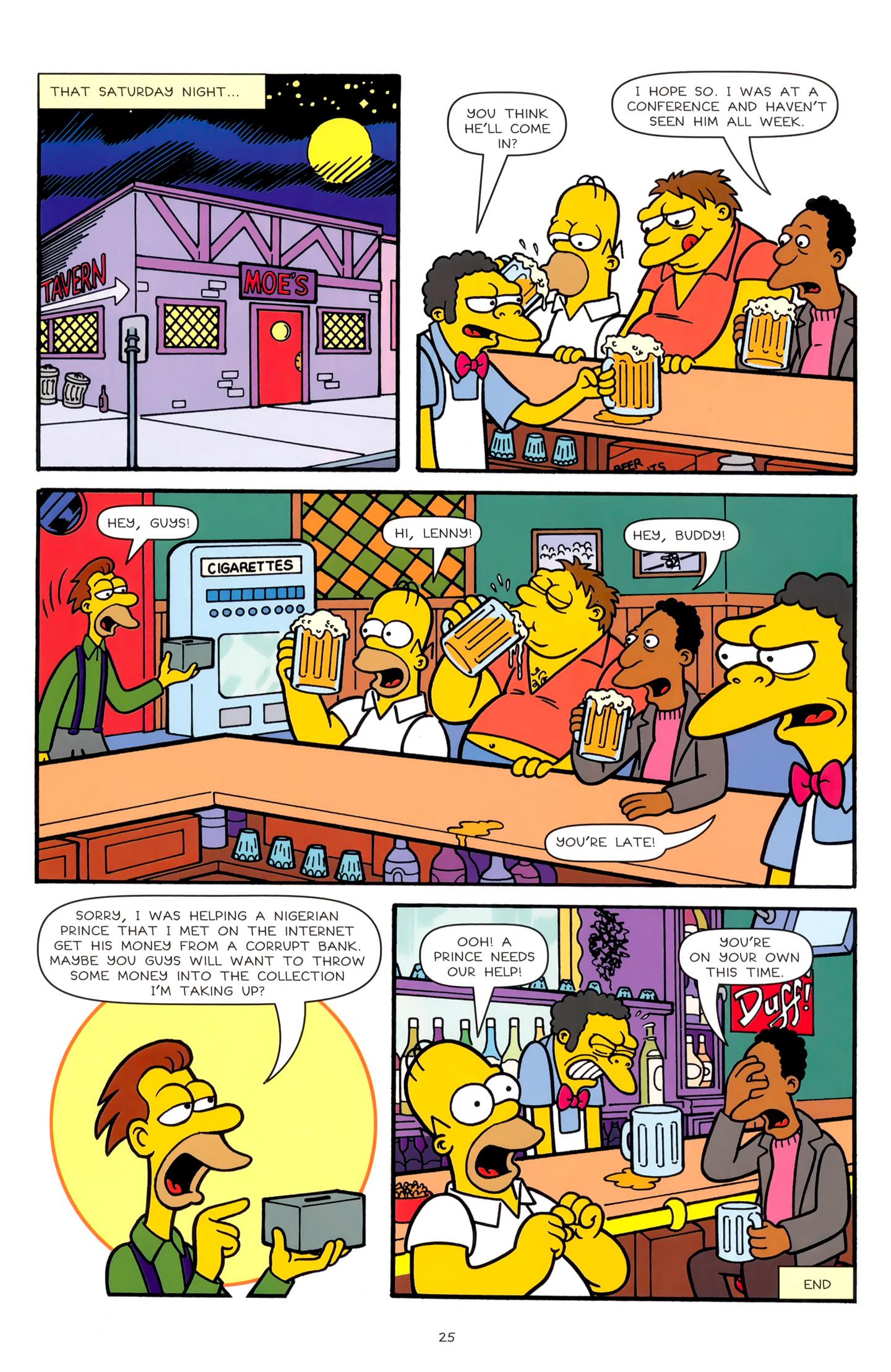 Read online Simpsons Comics comic -  Issue #179 - 21