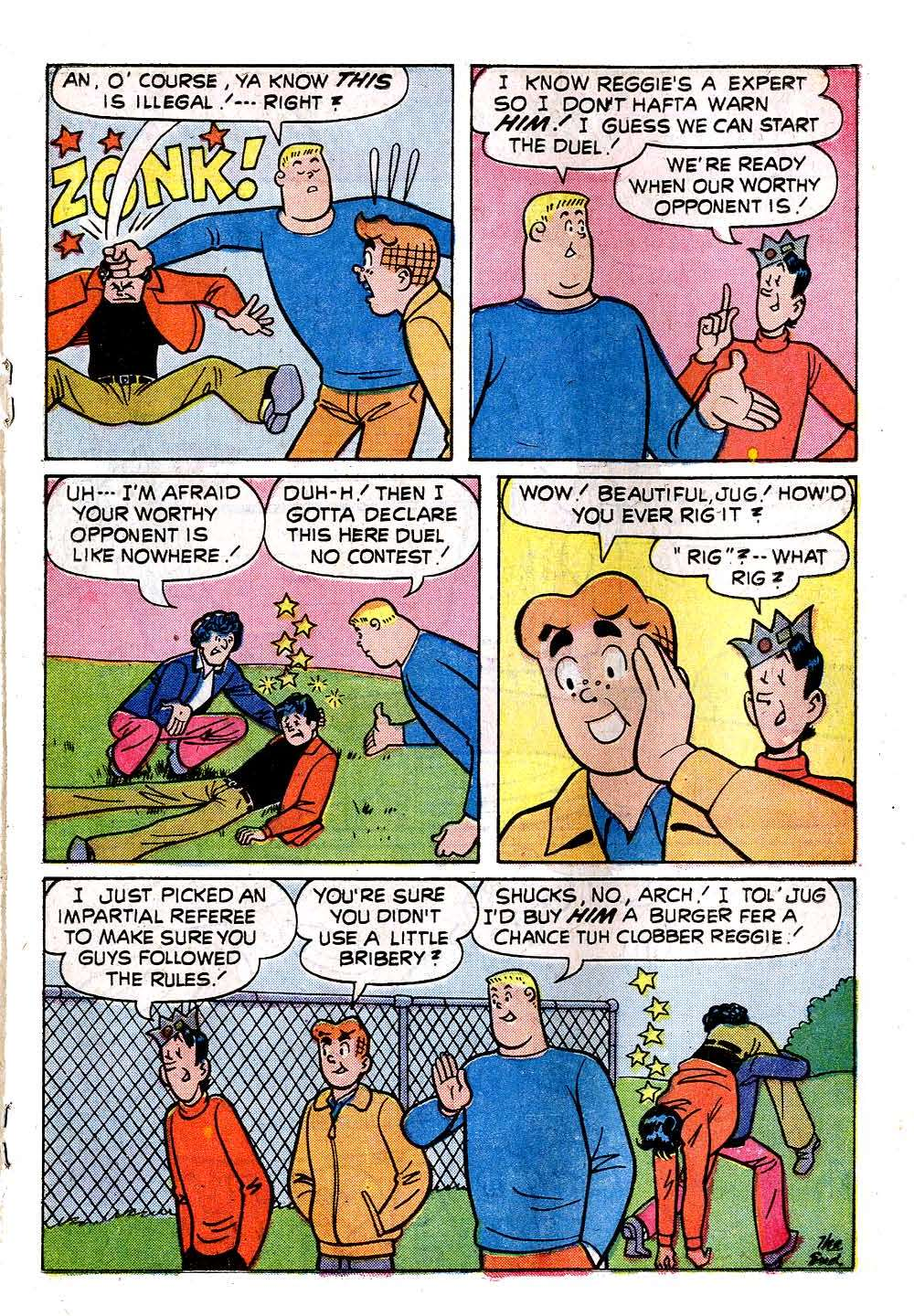 Read online Archie (1960) comic -  Issue #233 - 19