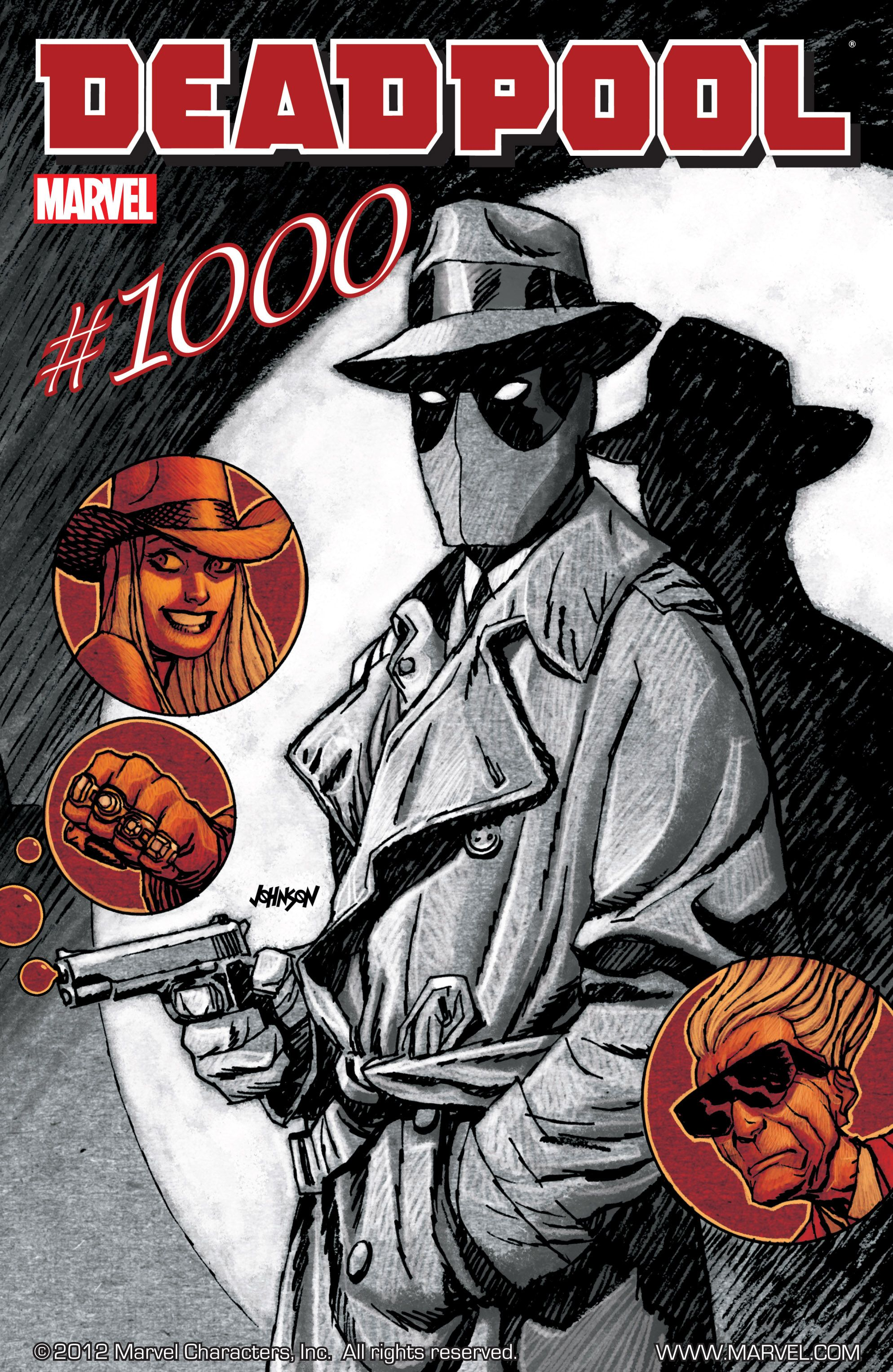 Deadpool (2008) 1000 Page 1