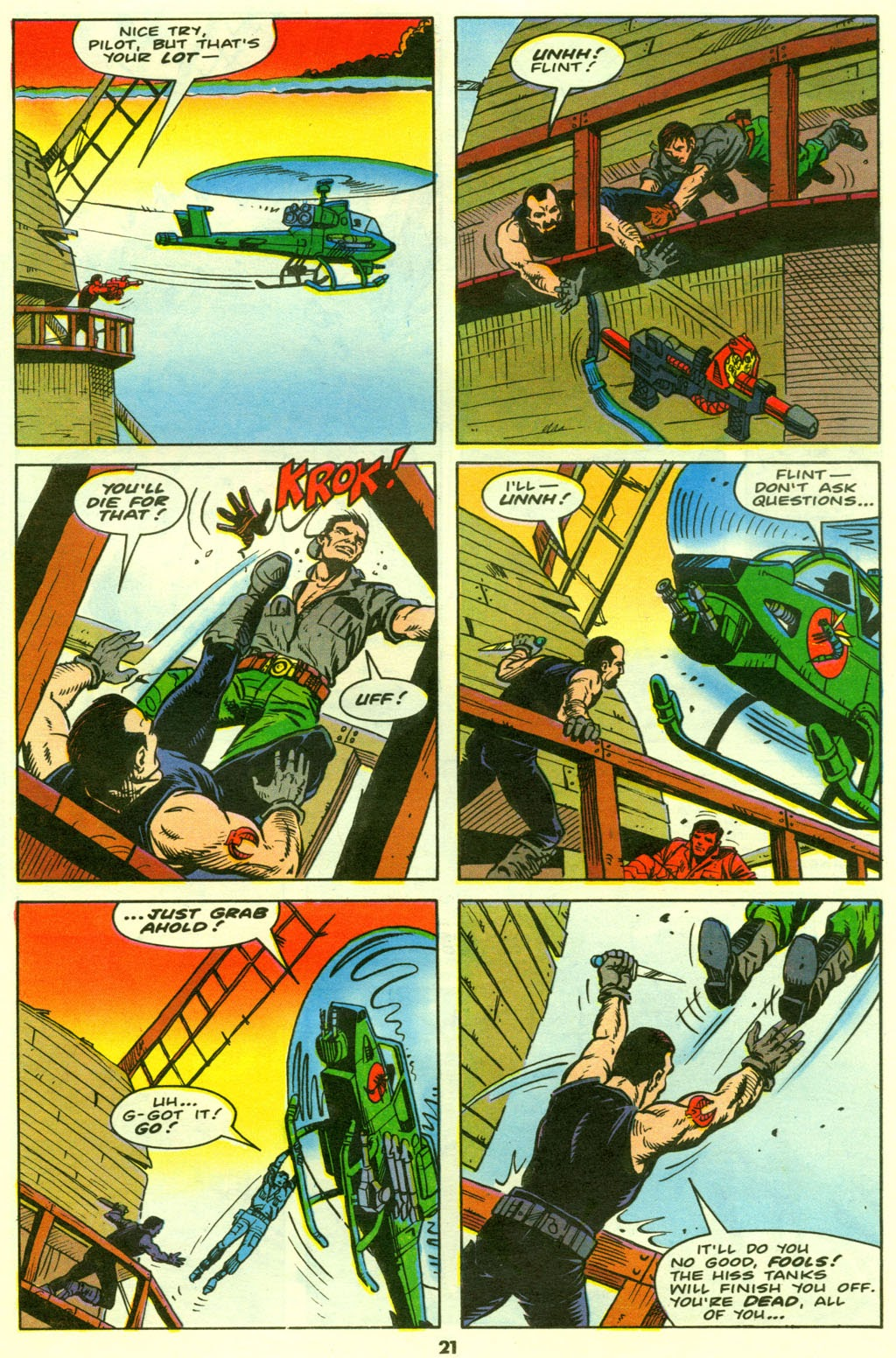G.I. Joe European Missions issue 9 - Page 22