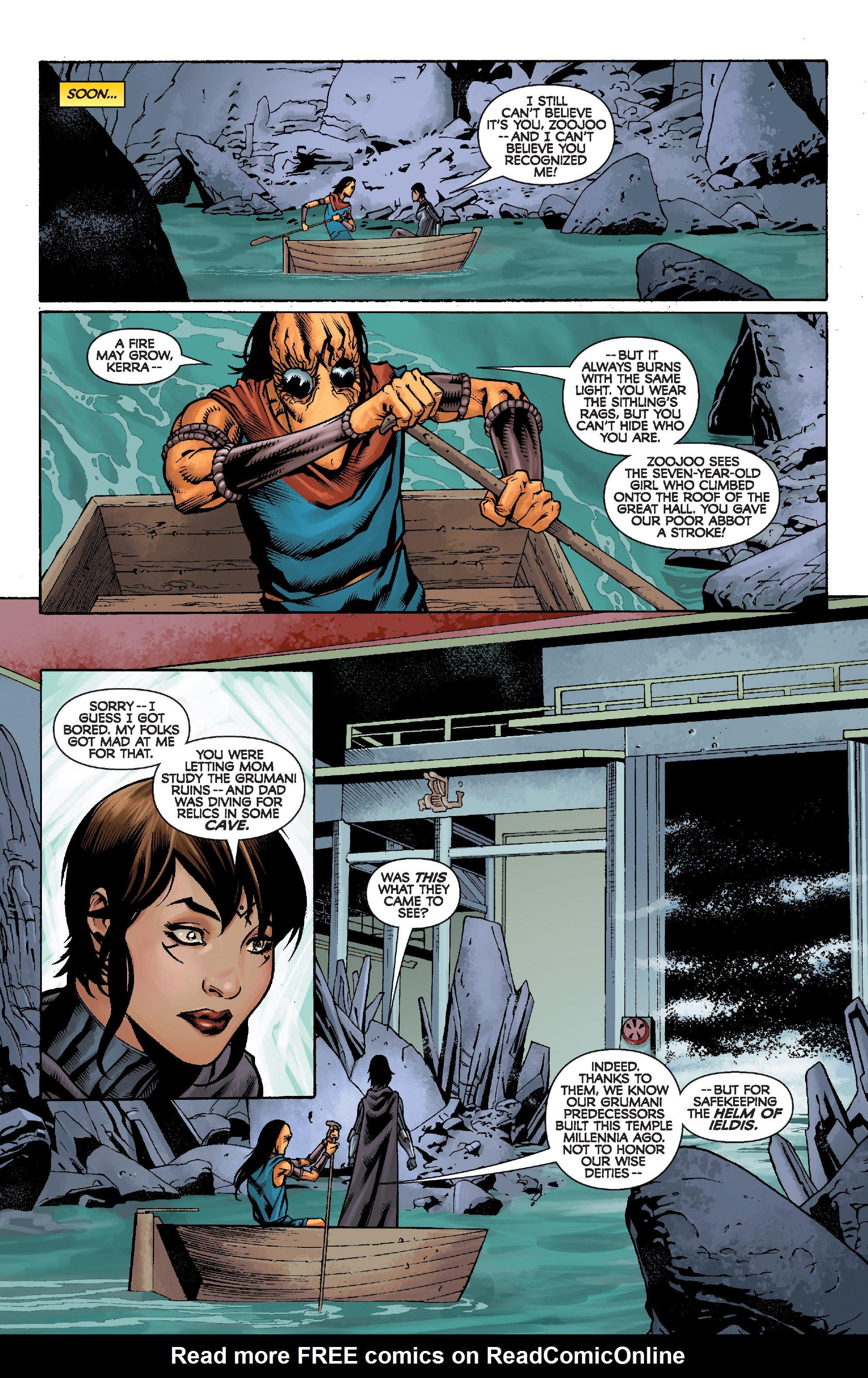 Read online Star Wars: Knight Errant - Escape comic -  Issue #2 - 14