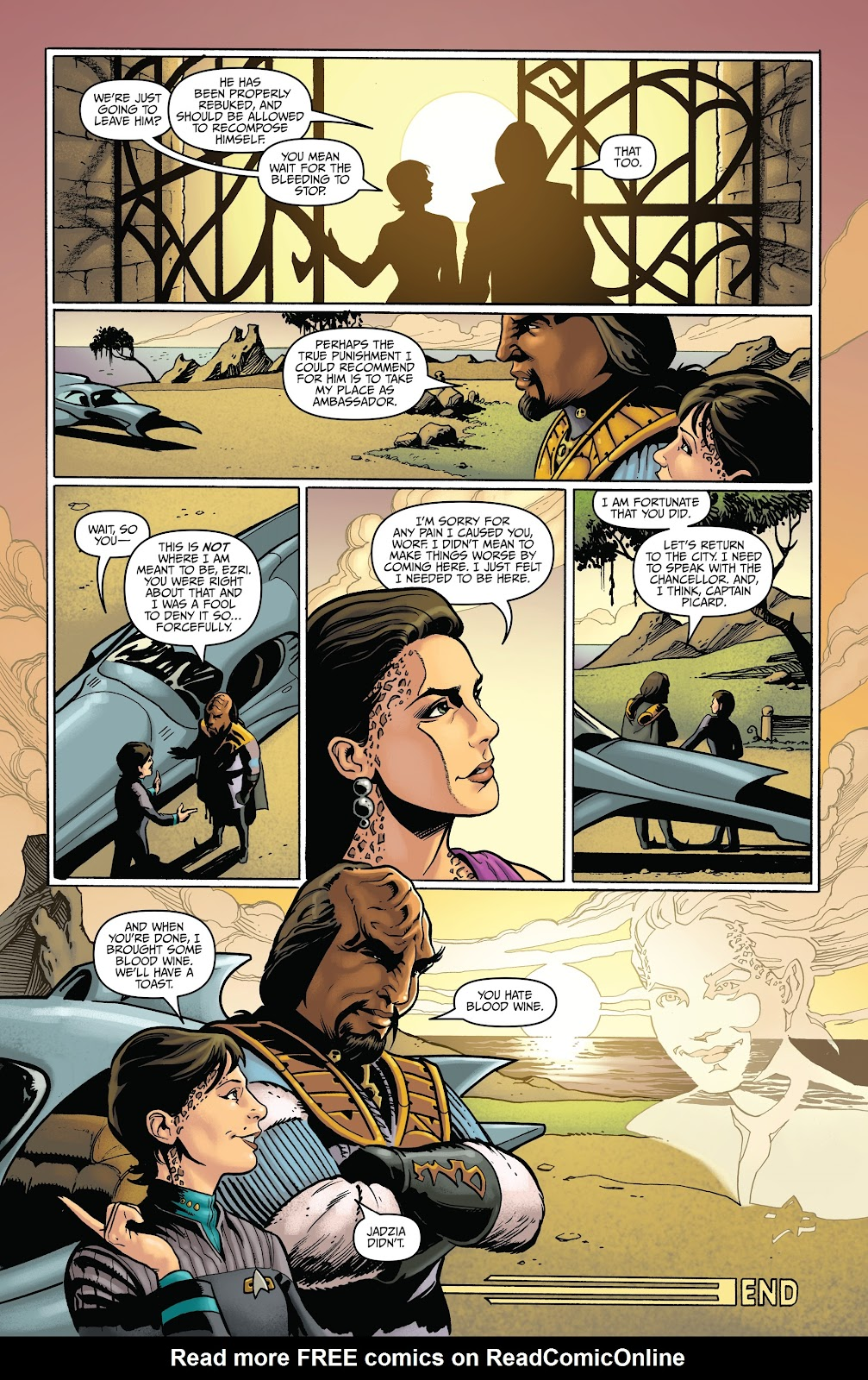 Read online Star Trek: Waypoint Special 2019 comic -  Issue # Full - 42