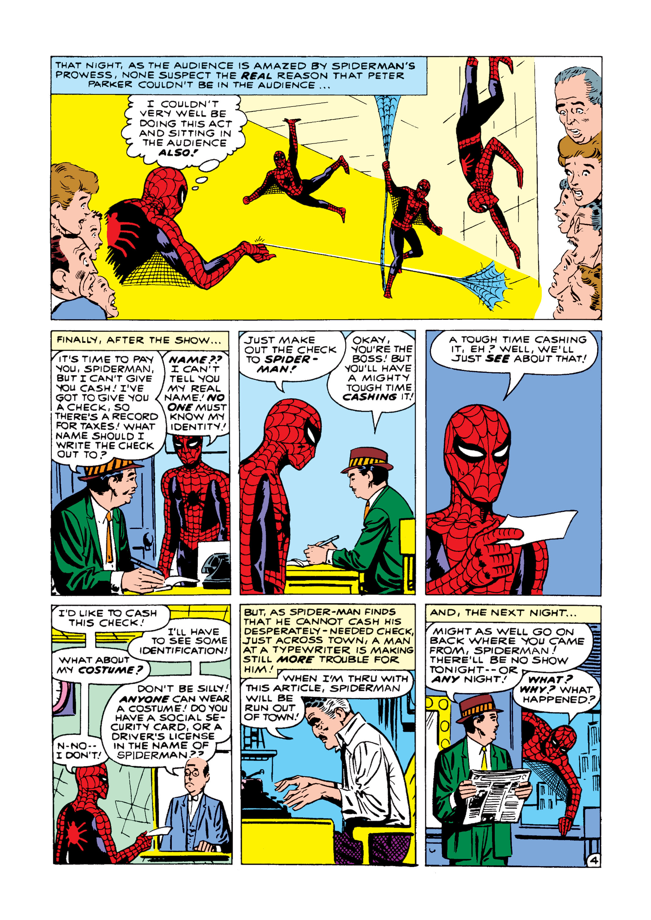 The Amazing Spider-Man (1963) 1 Page 4