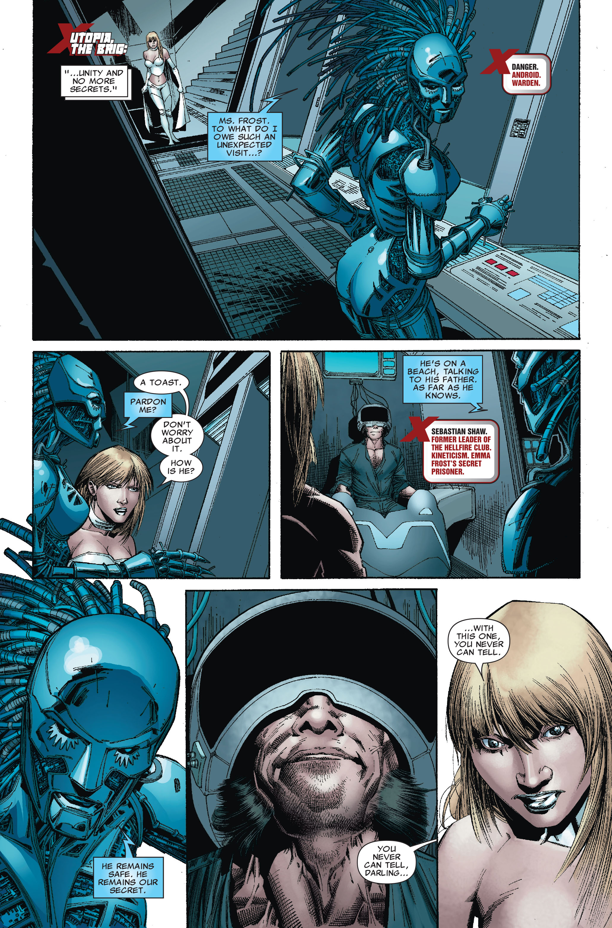 Read online Uncanny X-Men (1963) comic -  Issue #527 - 7