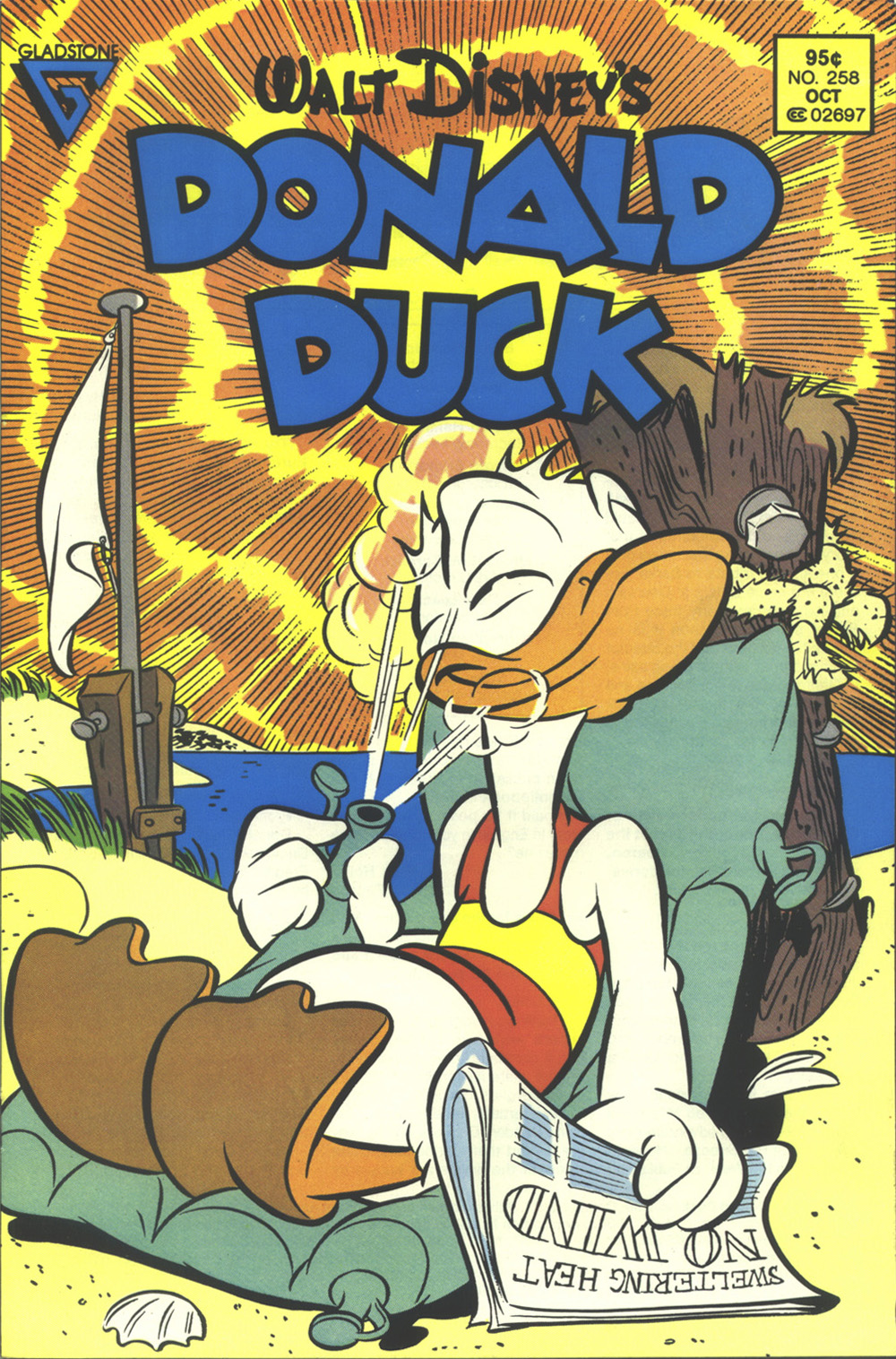 Walt Disney's Donald Duck (1952) issue 258 - Page 1