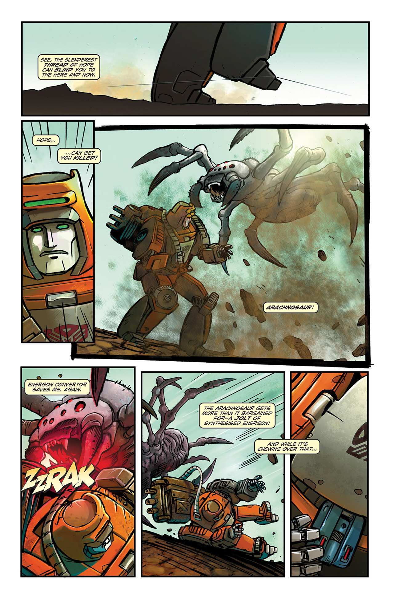Read online Transformers Spotlight: Wheelie comic -  Issue # Full - 11