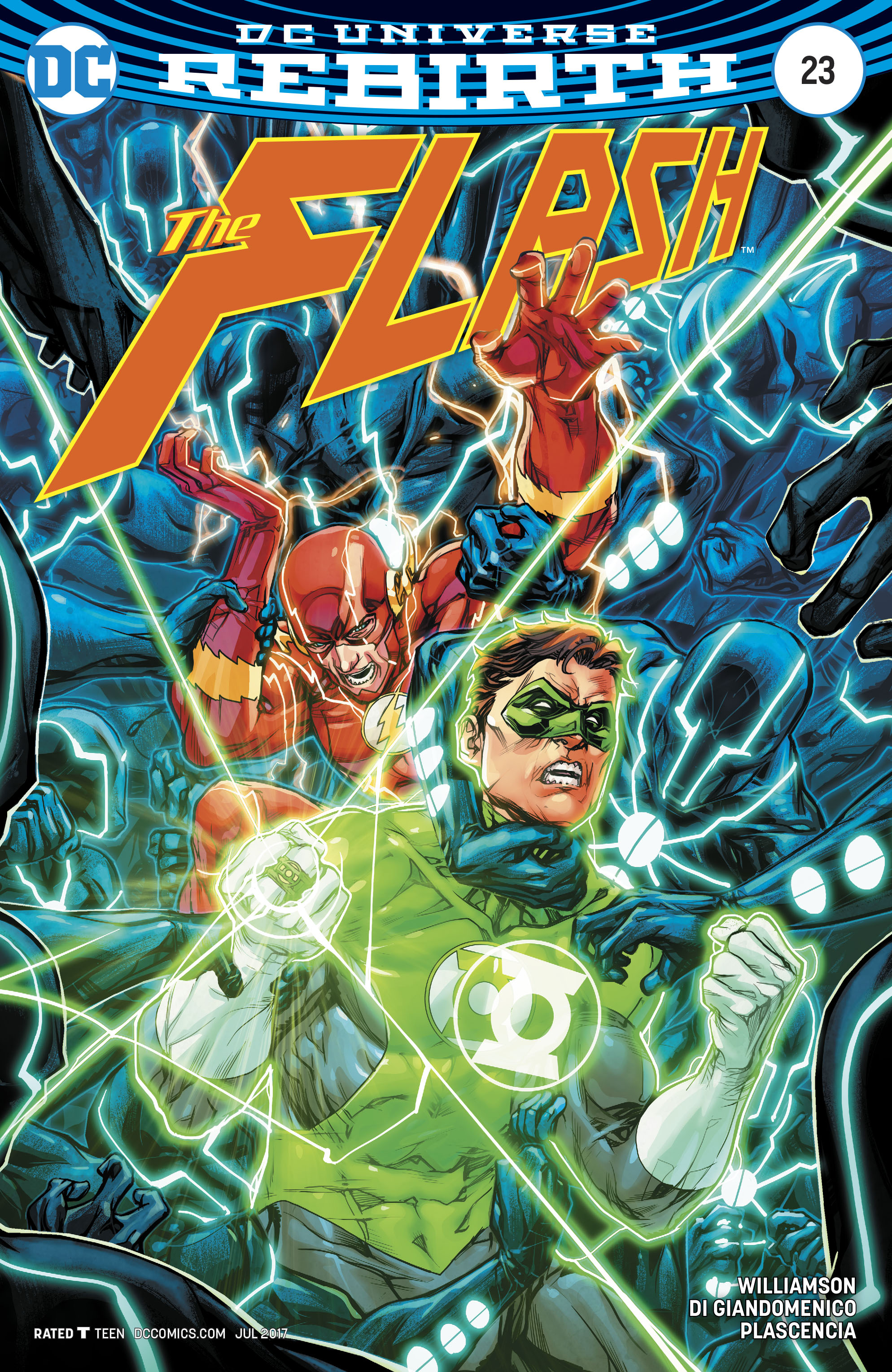 Read online The Flash (2016) comic -  Issue #23 - 2
