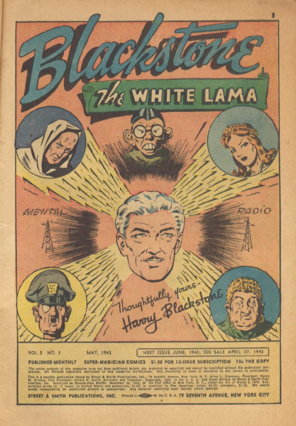 Read online Super-Magician Comics comic -  Issue #13 - 5