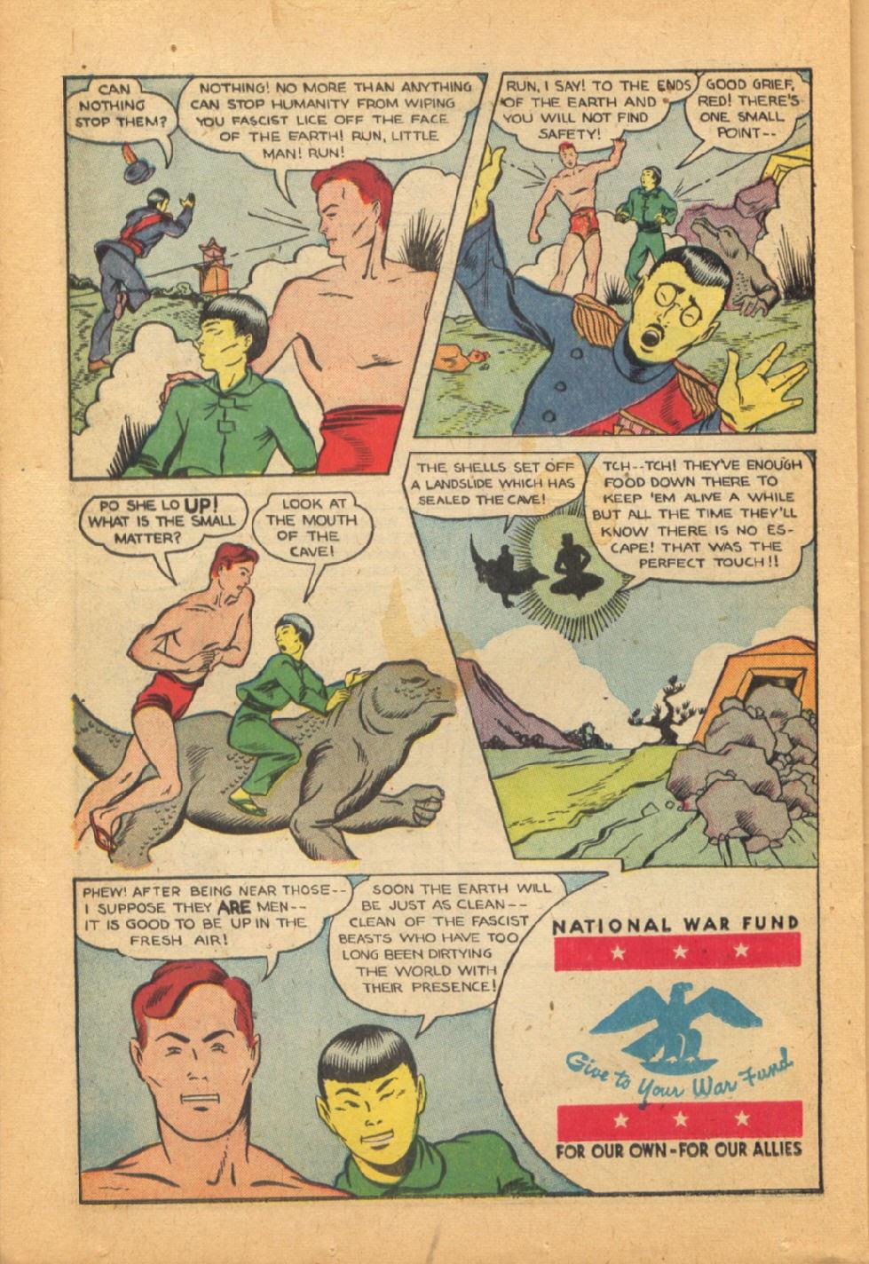 Read online Super-Magician Comics comic -  Issue #44 - 34