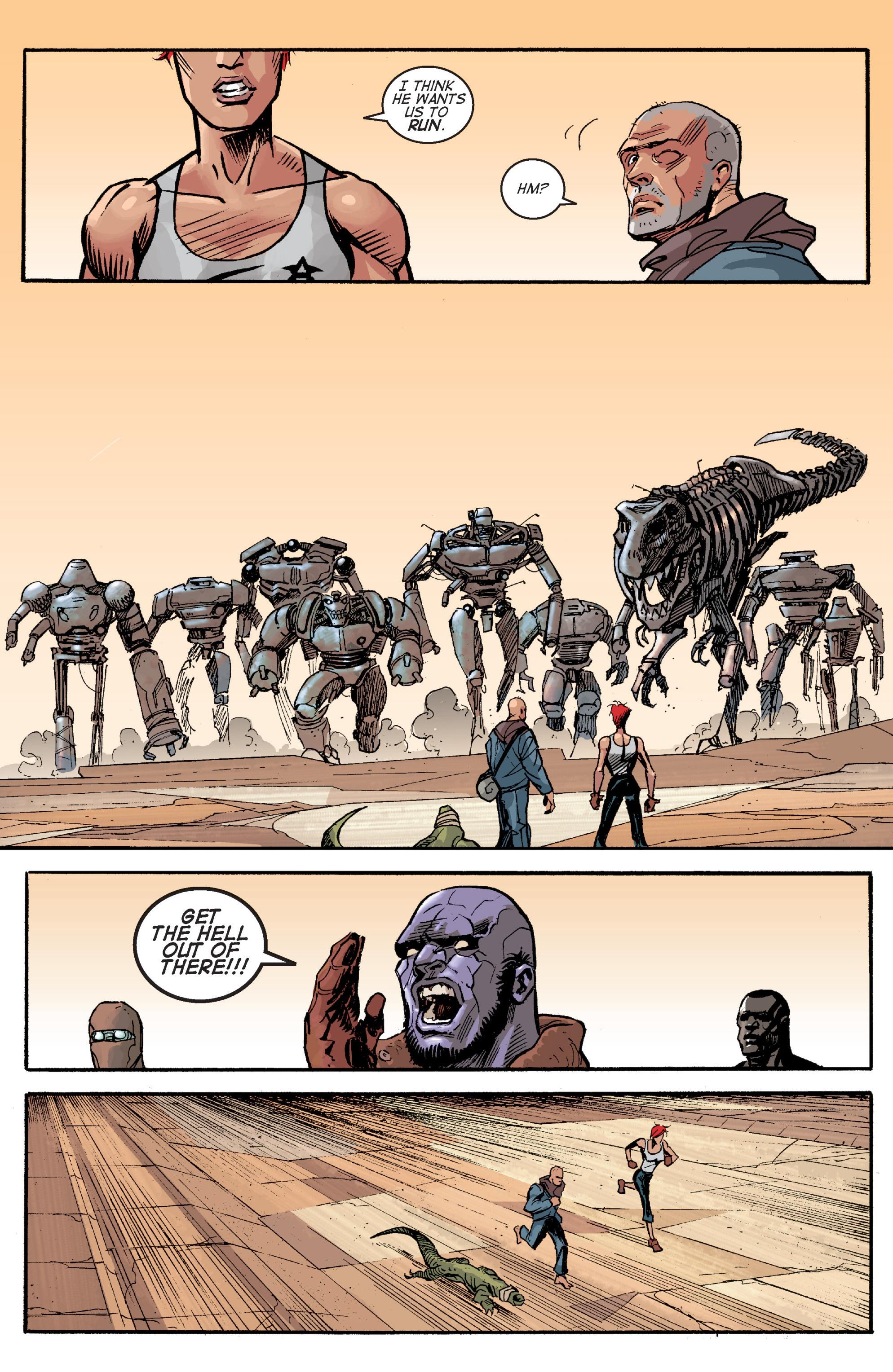 Read online Planetoid comic -  Issue # TPB - 141