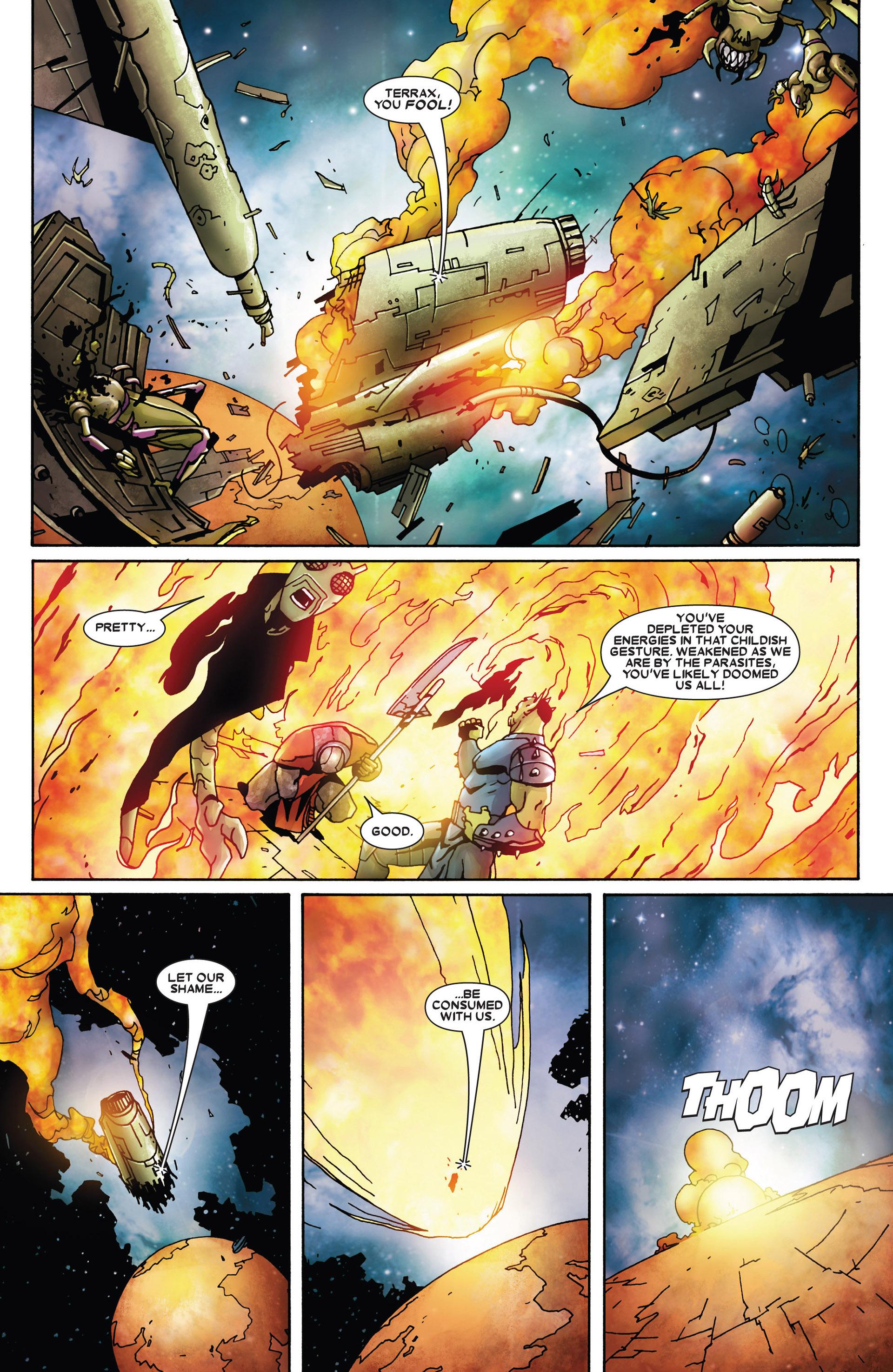 Read online Annihilation: Heralds Of Galactus comic -  Issue #1 - 5
