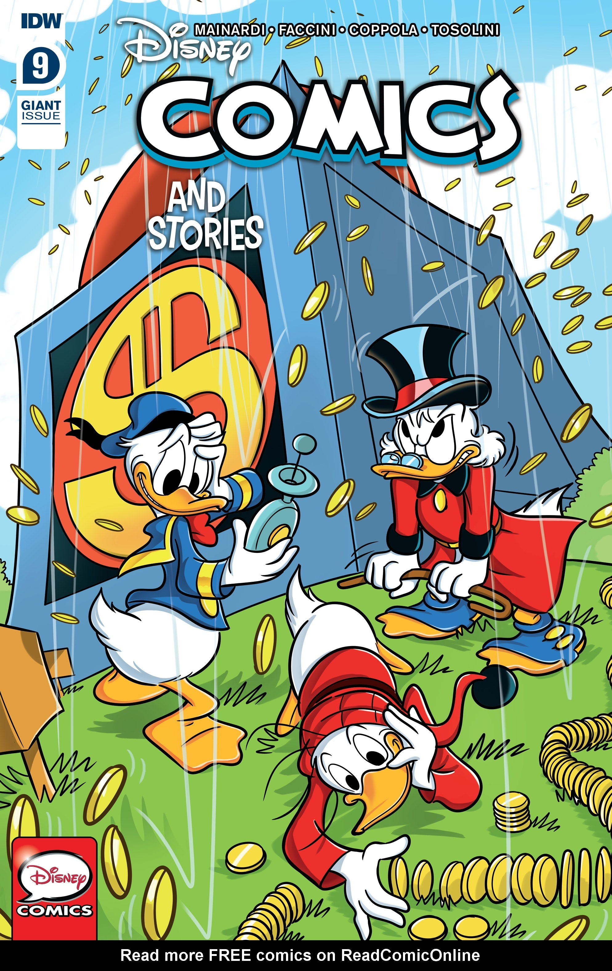 Disney Comics and Stories 9 Page 1