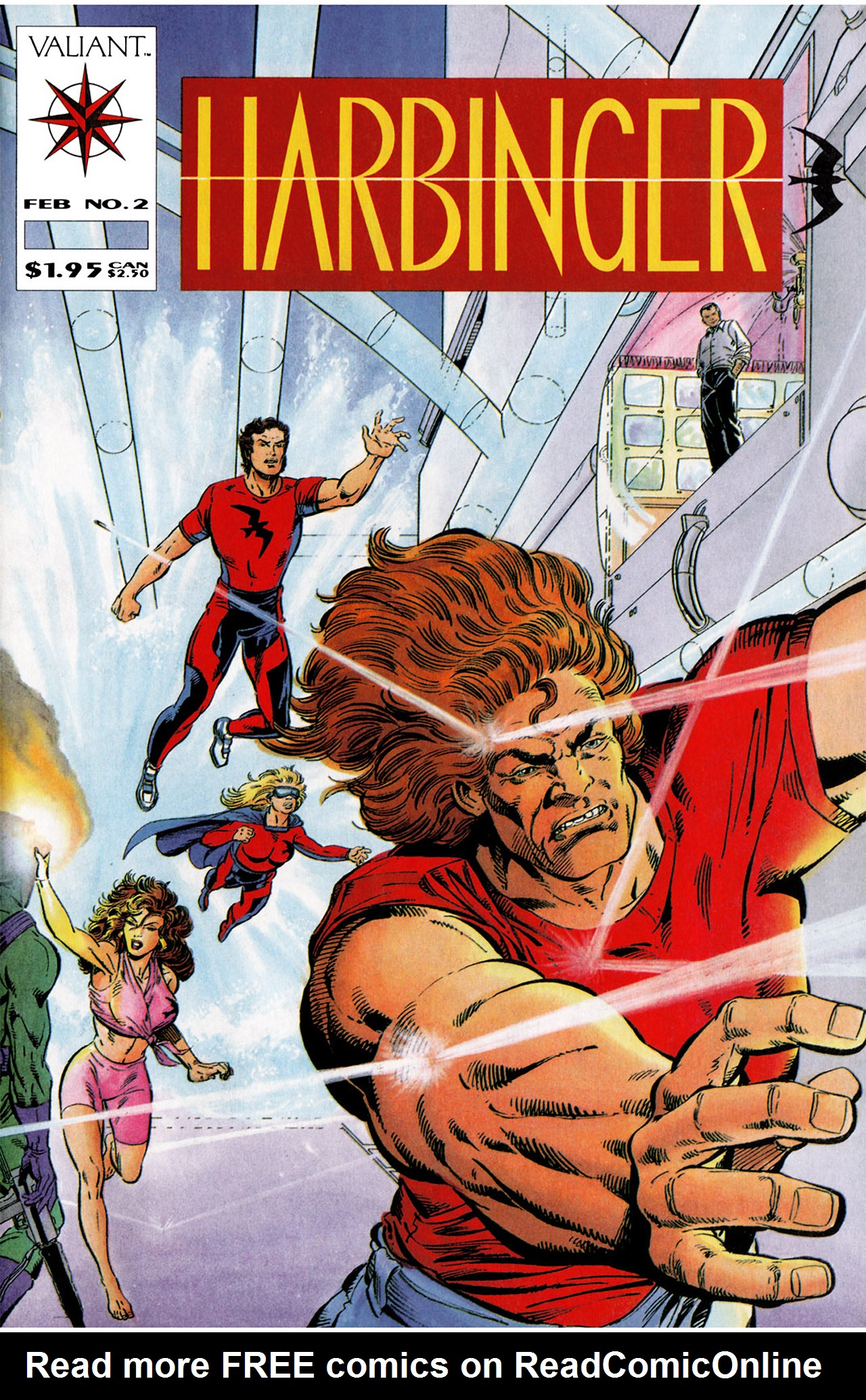 Read online Harbinger (1992) comic -  Issue #2 - 1