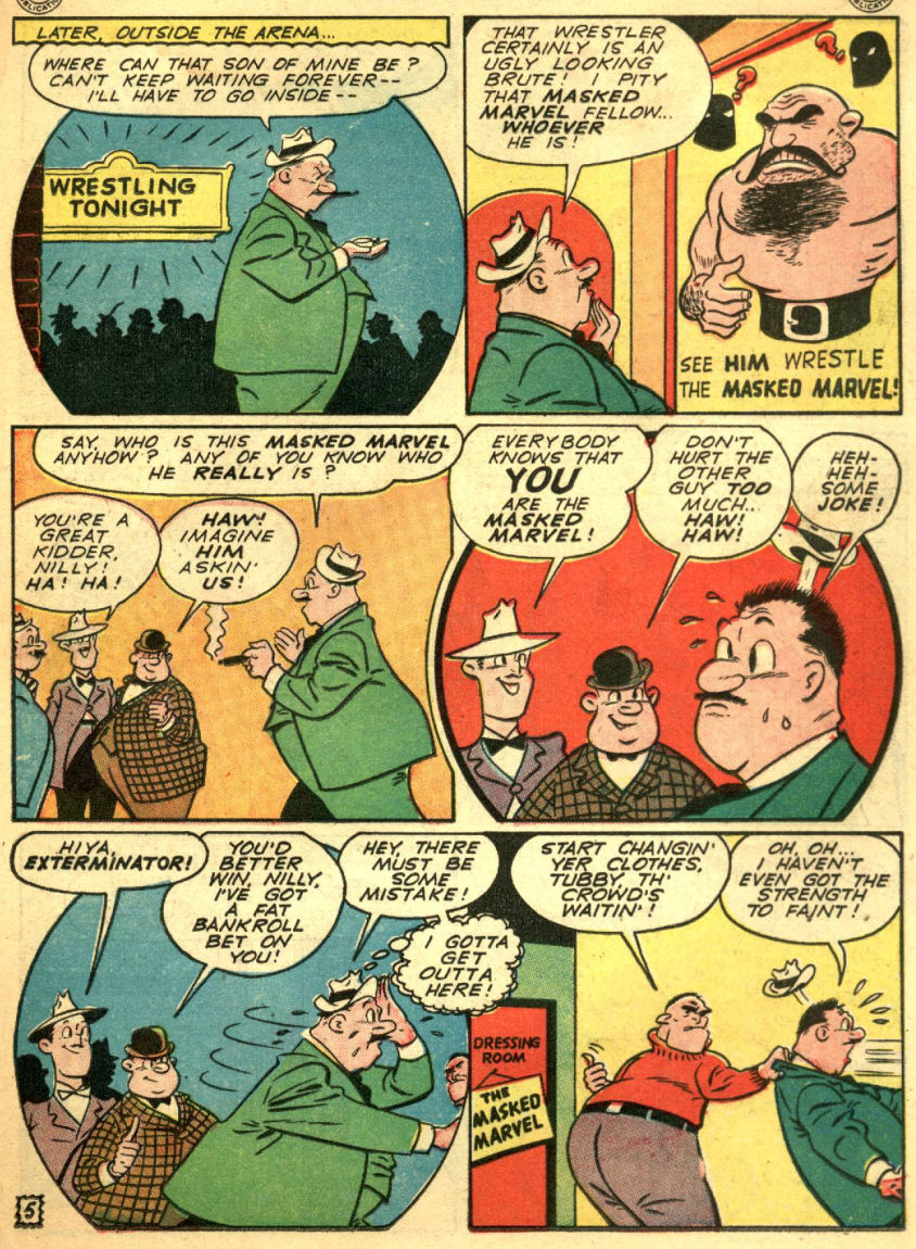 Read online Sensation (Mystery) Comics comic -  Issue #69 - 37