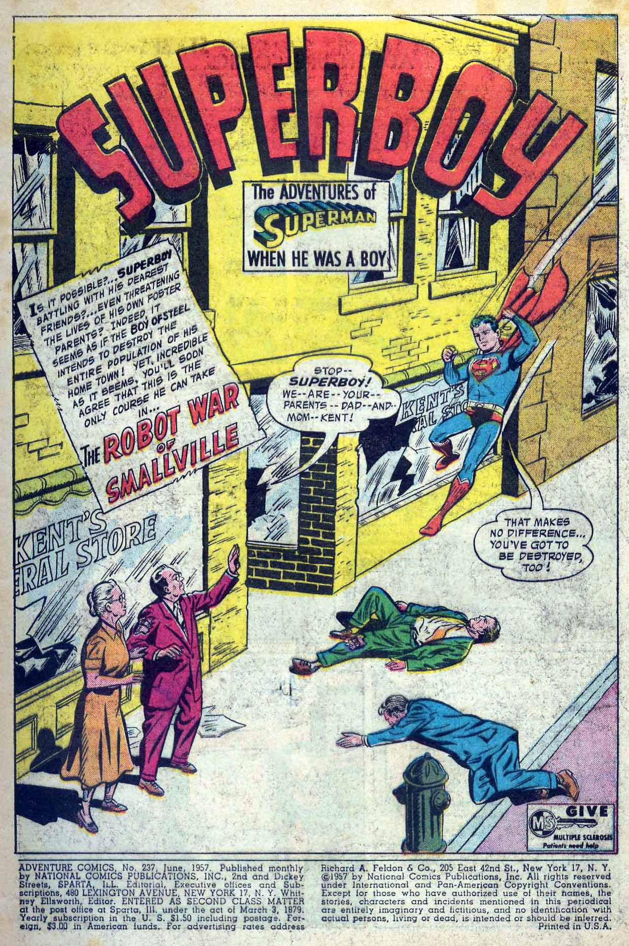 Read online Adventure Comics (1938) comic -  Issue #237 - 3